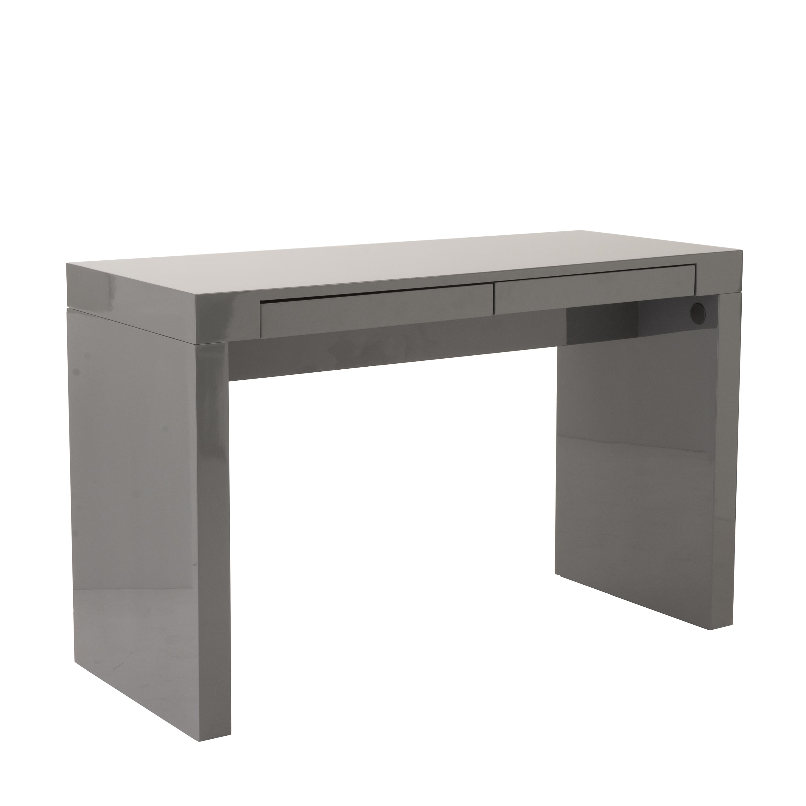 flair l most office computer table grey white gray desk writing shaped corner skookum