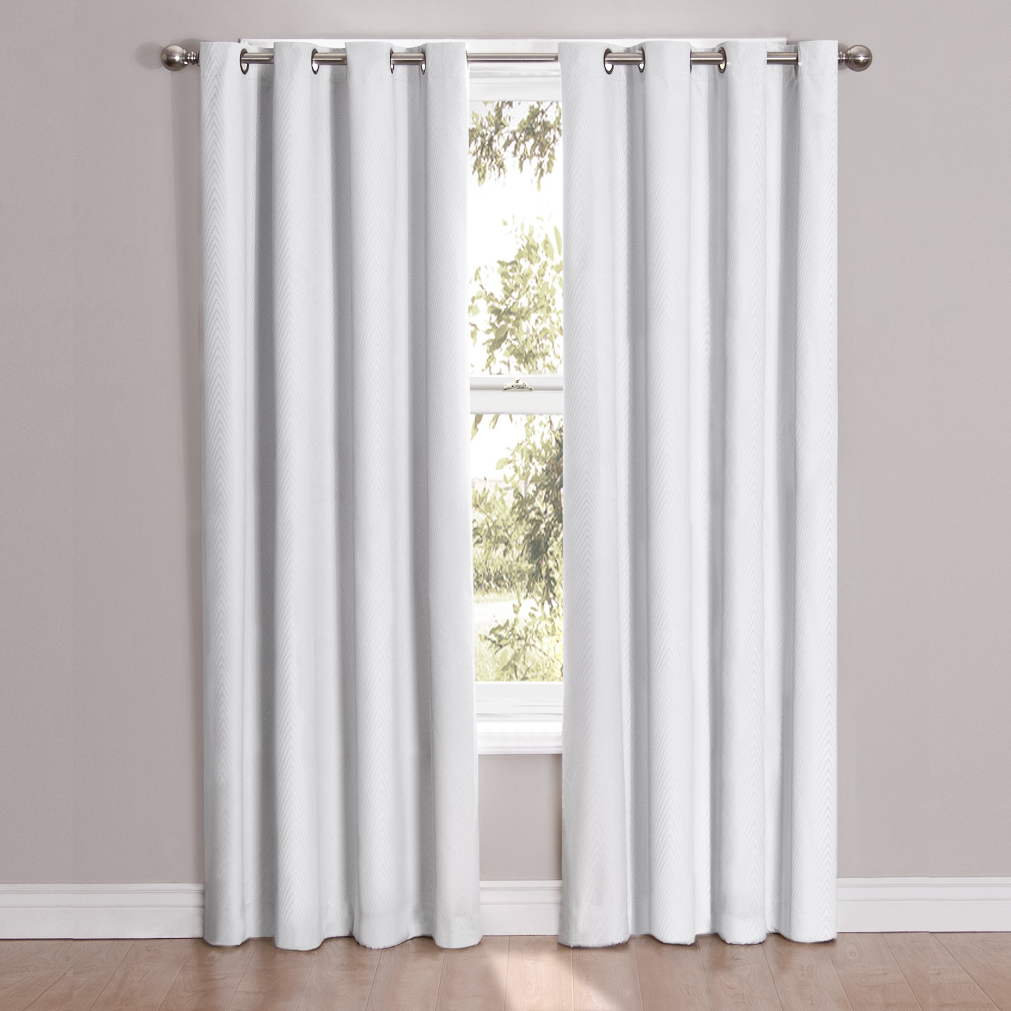 Eclipse Cassidy Blackout Grommet Window Curtain Panel - Free Shipping On  Orders Over $45 - Overstock.com - 18015834