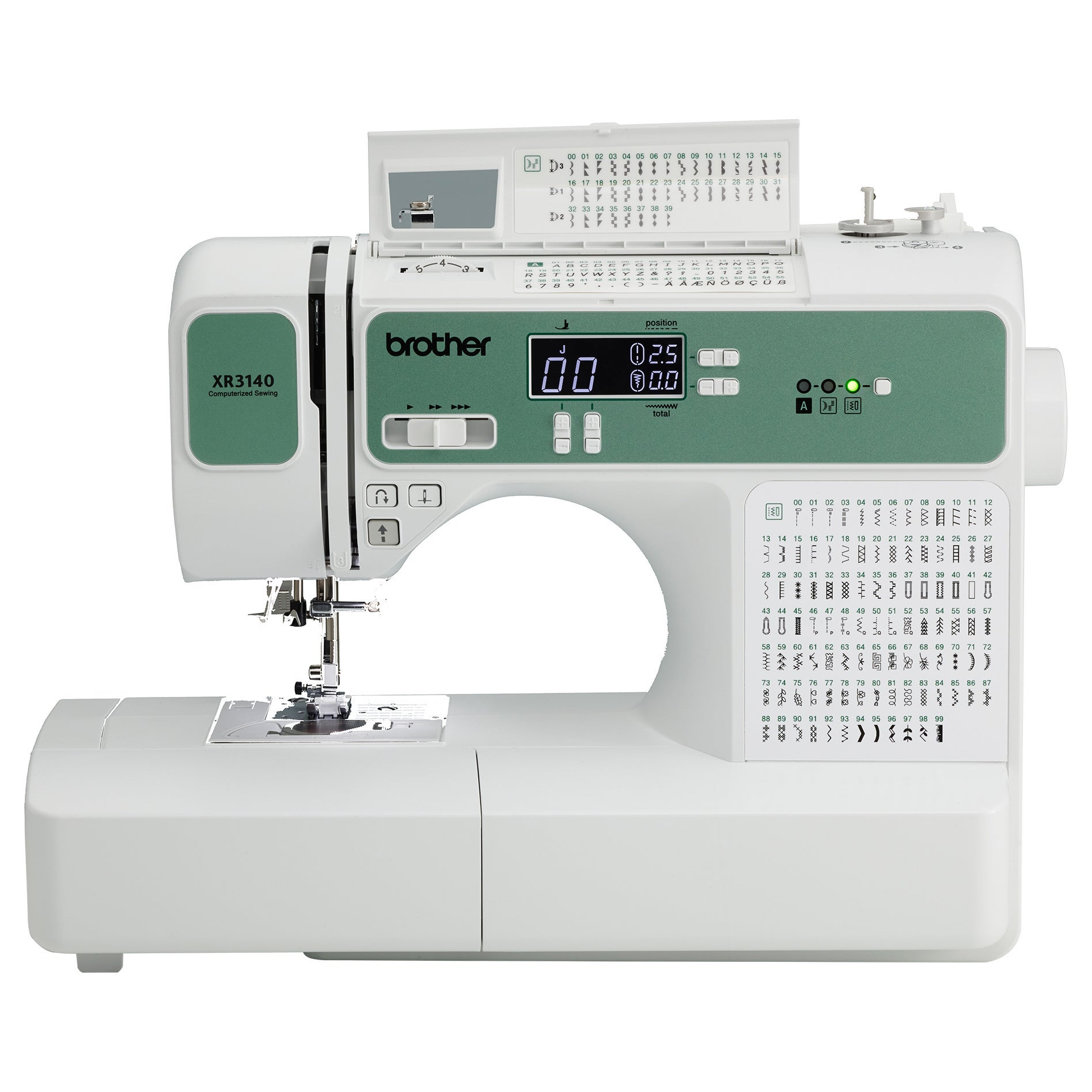 Brother Xr3140 140 Stitch Computerized Sewing Quilting Machine Factory Refurbished
