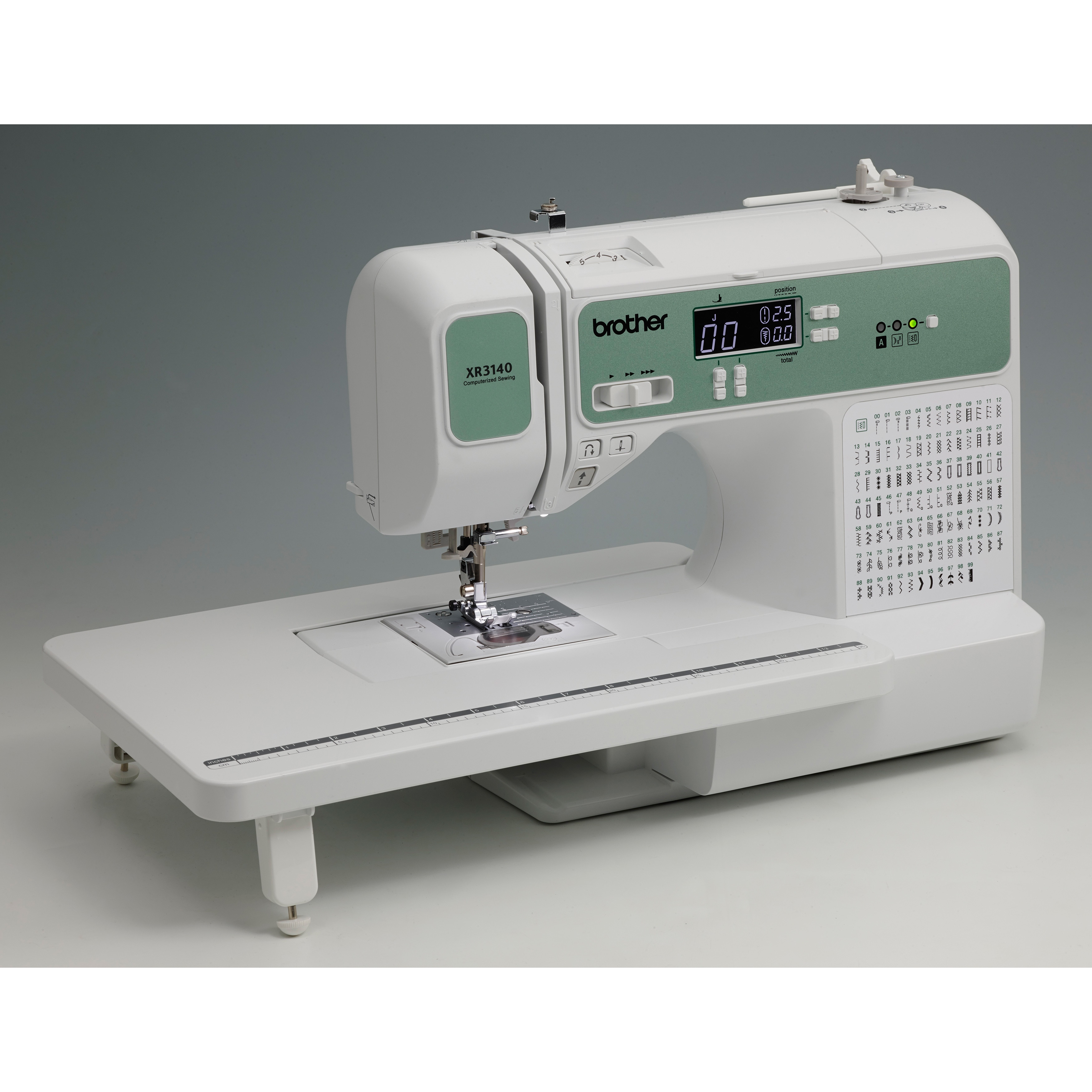 Brother XR3140 140 Stitch Computerized Sewing & Quilting Machine ... : quilting machine - Adamdwight.com