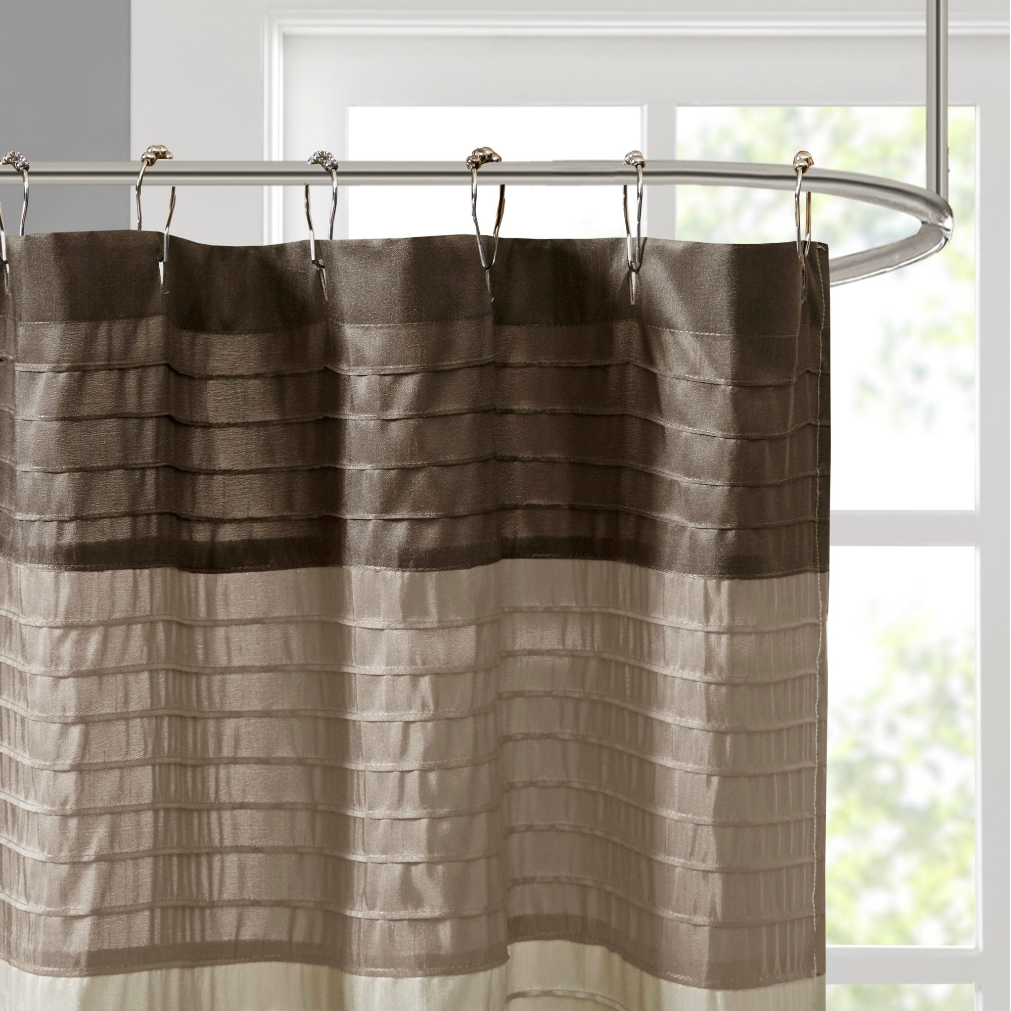 Shop Madison Park Eastridge Polyester Shower Curtain 54x78