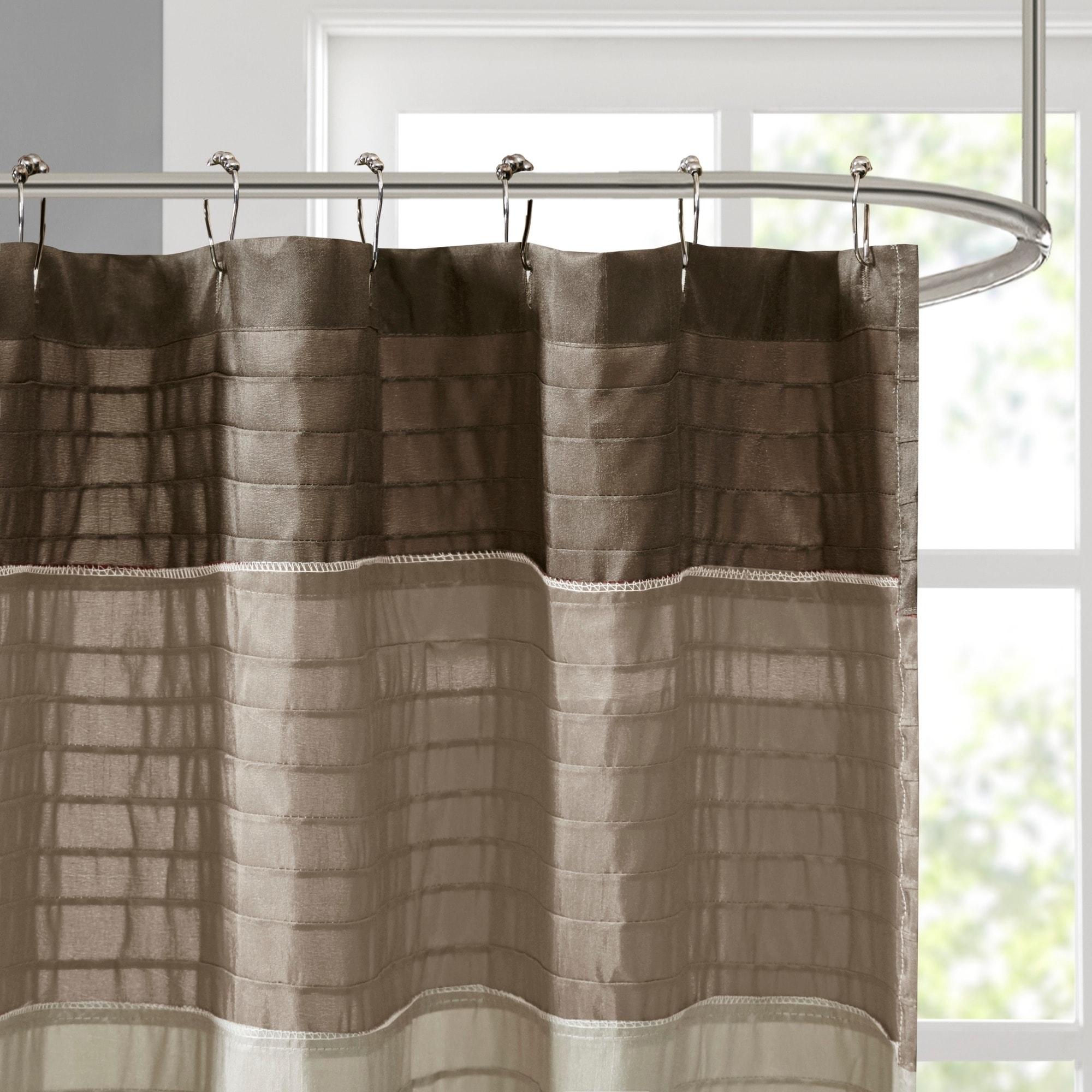 Shop Madison Park Eastridge Polyester Shower Curtain 54x78