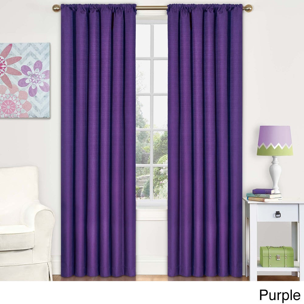 Eclipse Kendall Blackout Window Curtain Panel - Free Shipping On ...