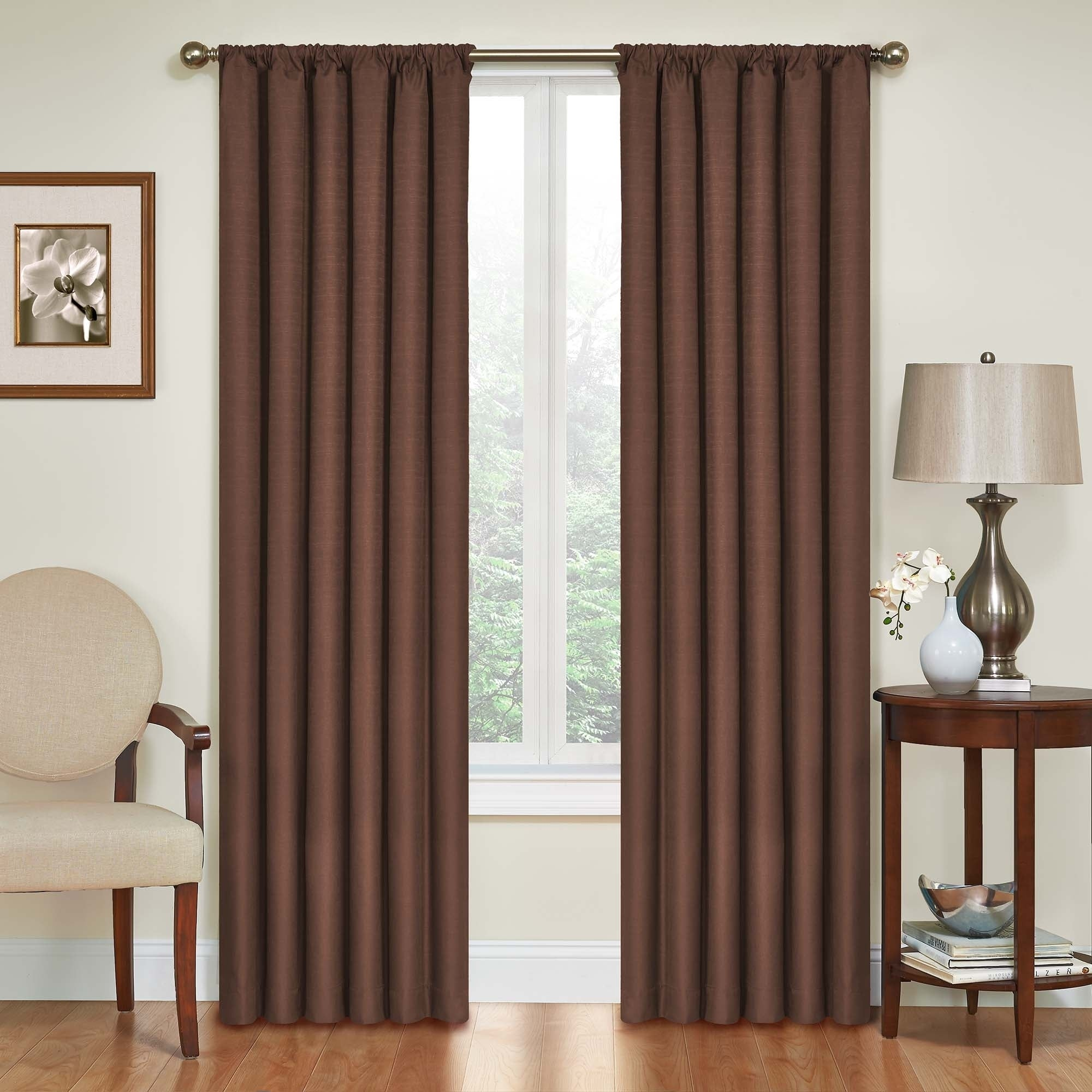 Shop Eclipse Kendall Blackout Window Curtain Panel - On Sale - Free Shipping On Orders Over $45 - Overstock.com - 11002719