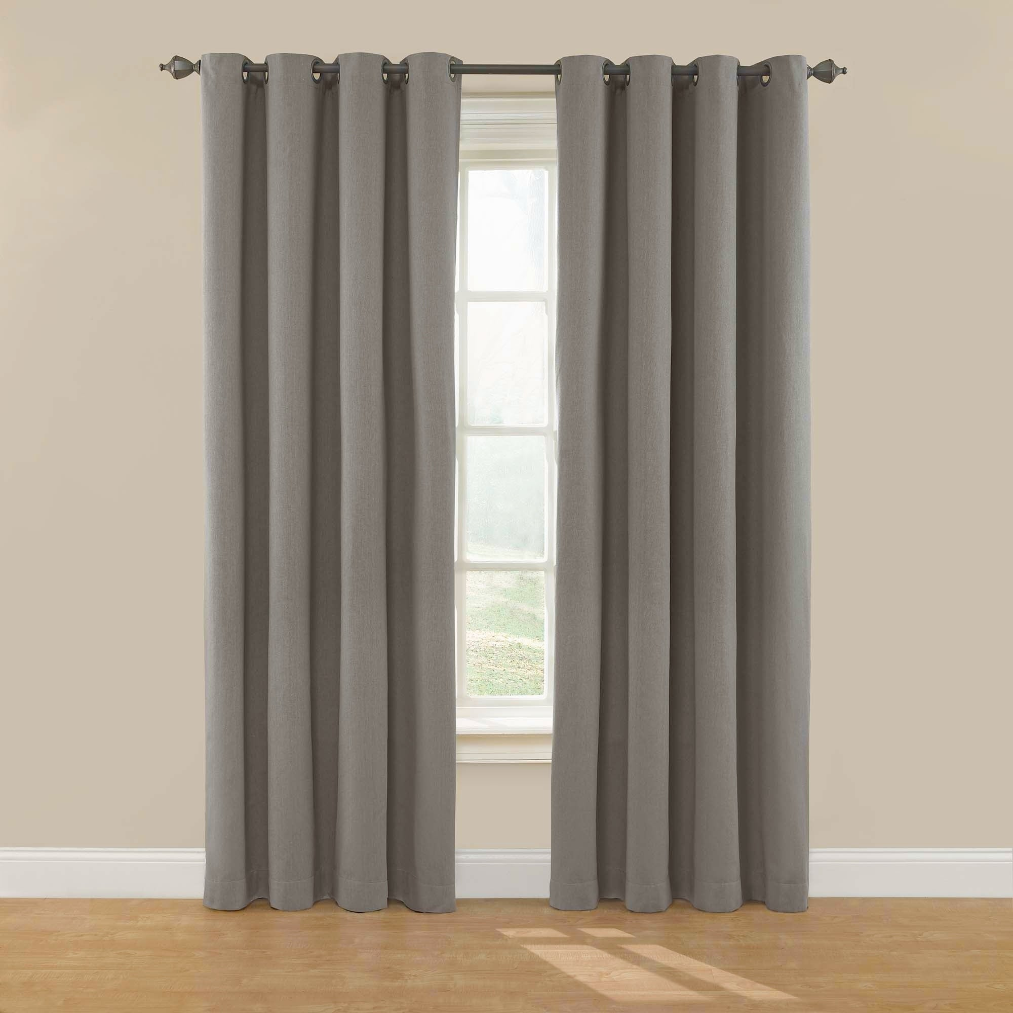 Eclipse Nadya Solid Blackout Window Curtain Panel  Free Shipping