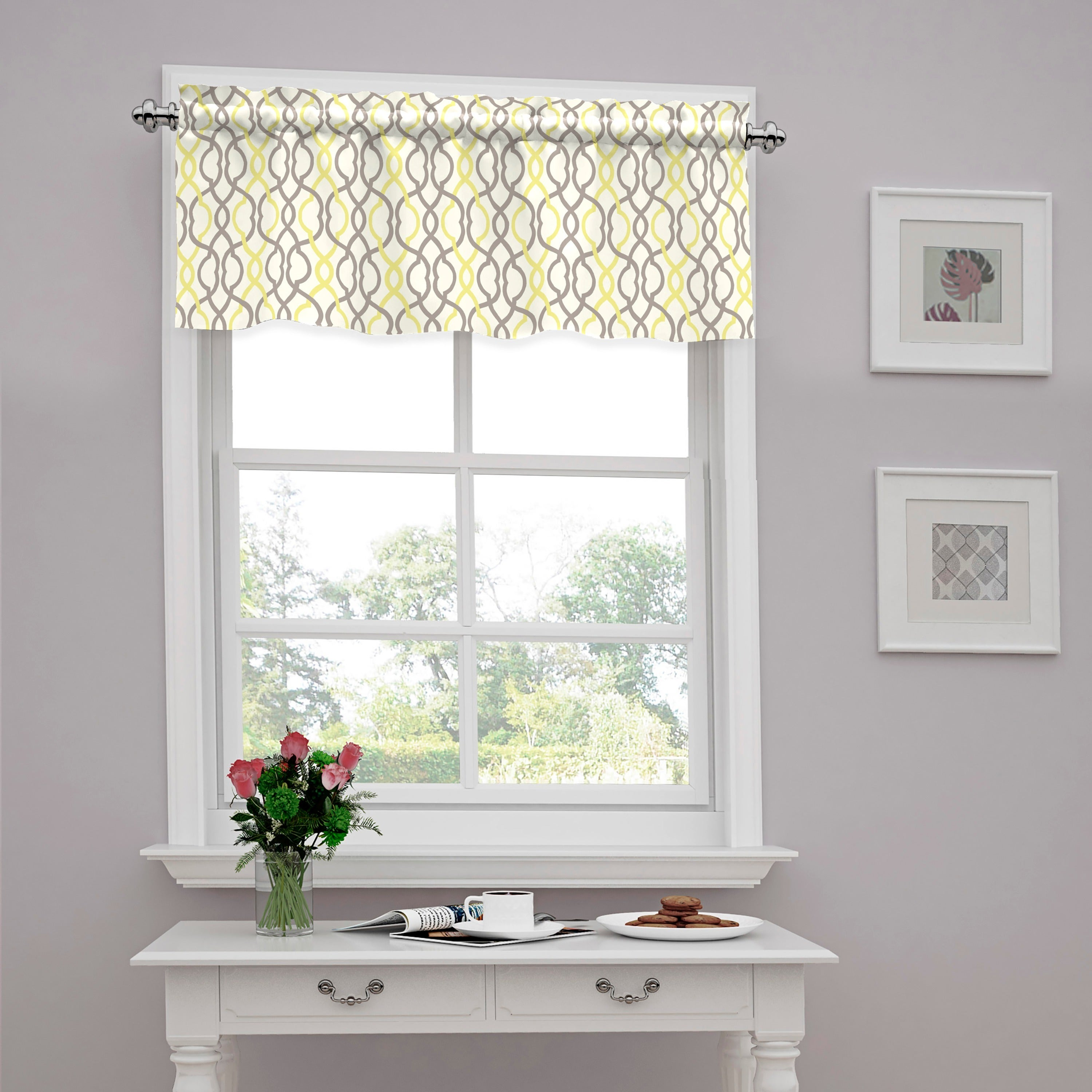Shop Traditions by Waverly Make Waves Tailored Window Valance ...