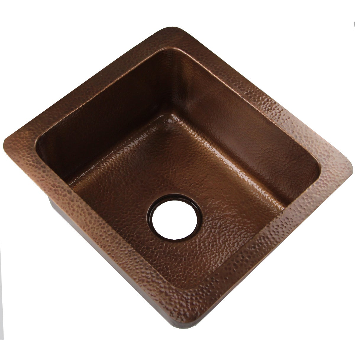 bowl single sink inch undermount hammered kitchen r copper products luxury
