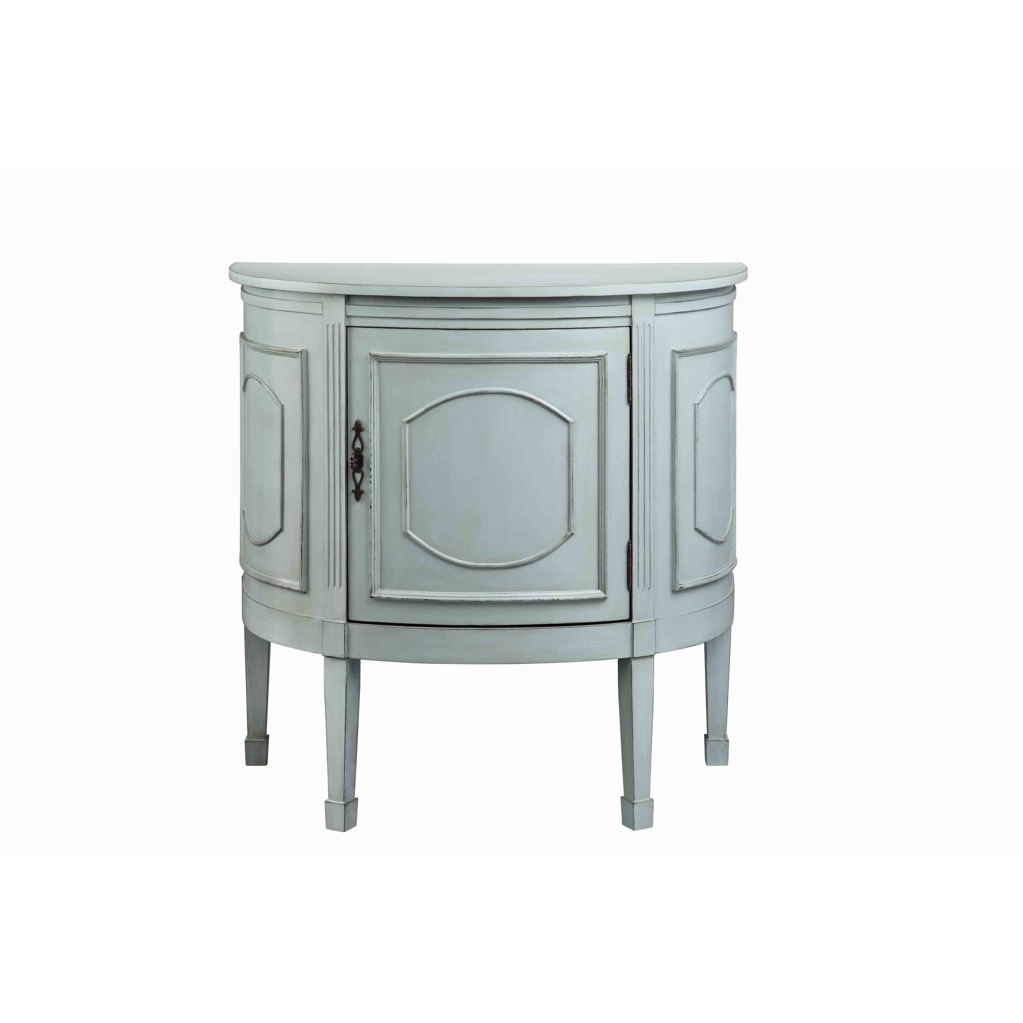 Shop Tucci Demilune One Door Console - On Sale - Free Shipping Today ...