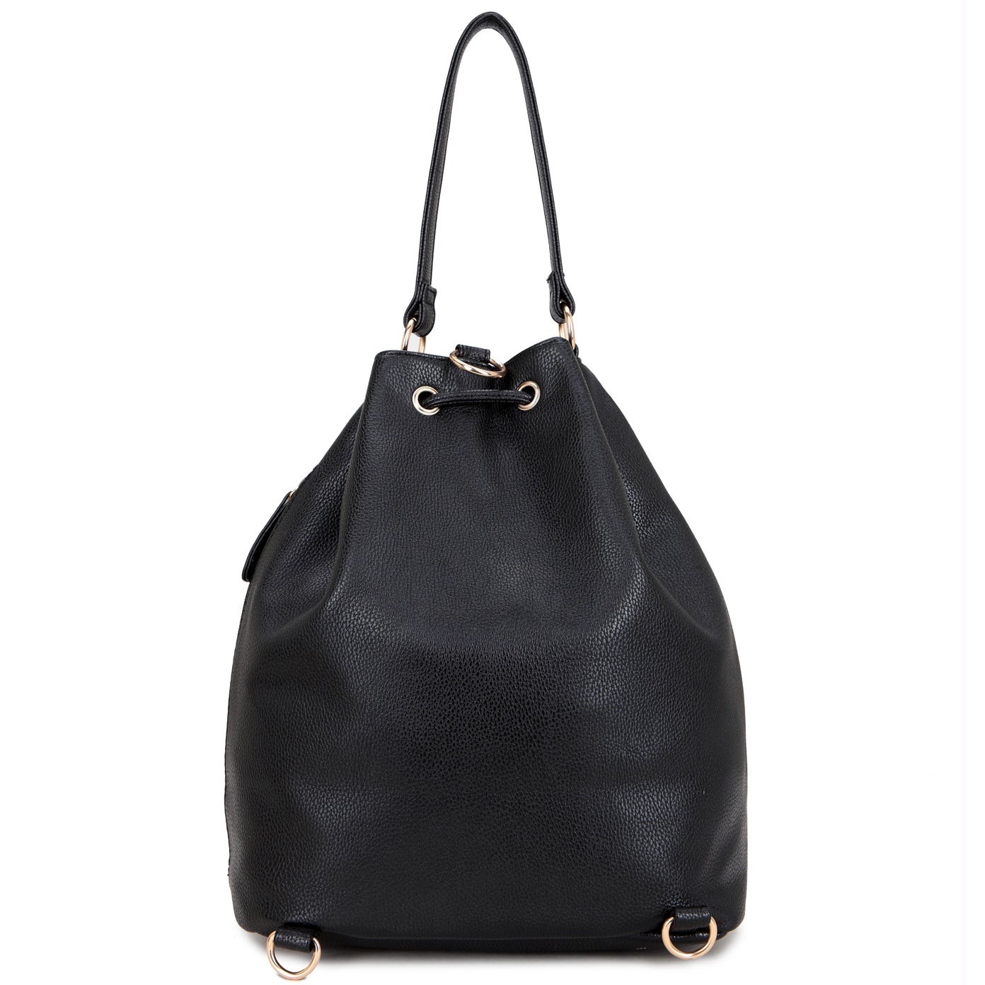 1513b1a705bd Shop Dasein Front Pocket Convertible Drawstring Hobo Handbag - On Sale -  Free Shipping Today - Overstock - 11017875