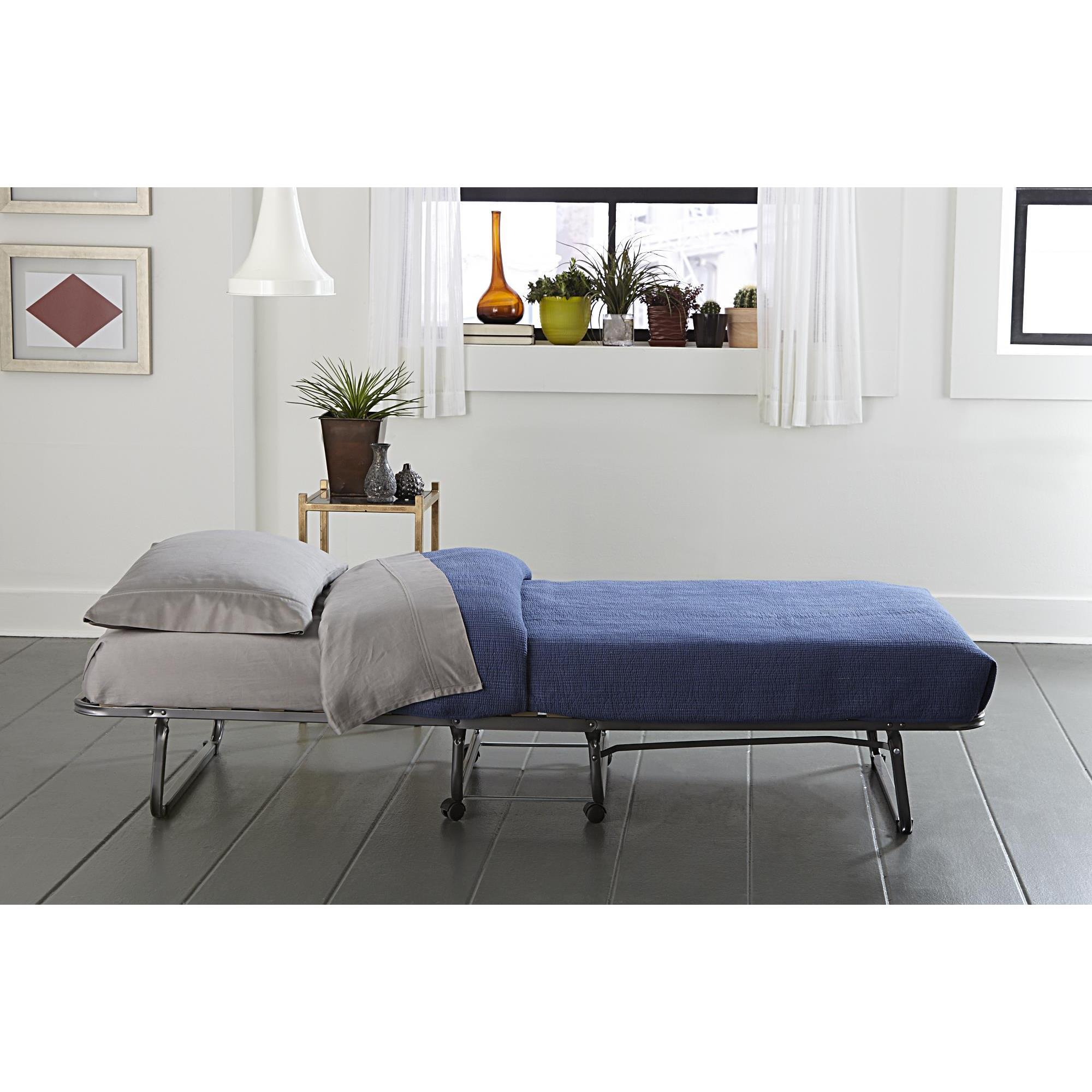 be aluminum amazon memory guest foam with mattress jay j frame dining bed dp folding and kitchen com
