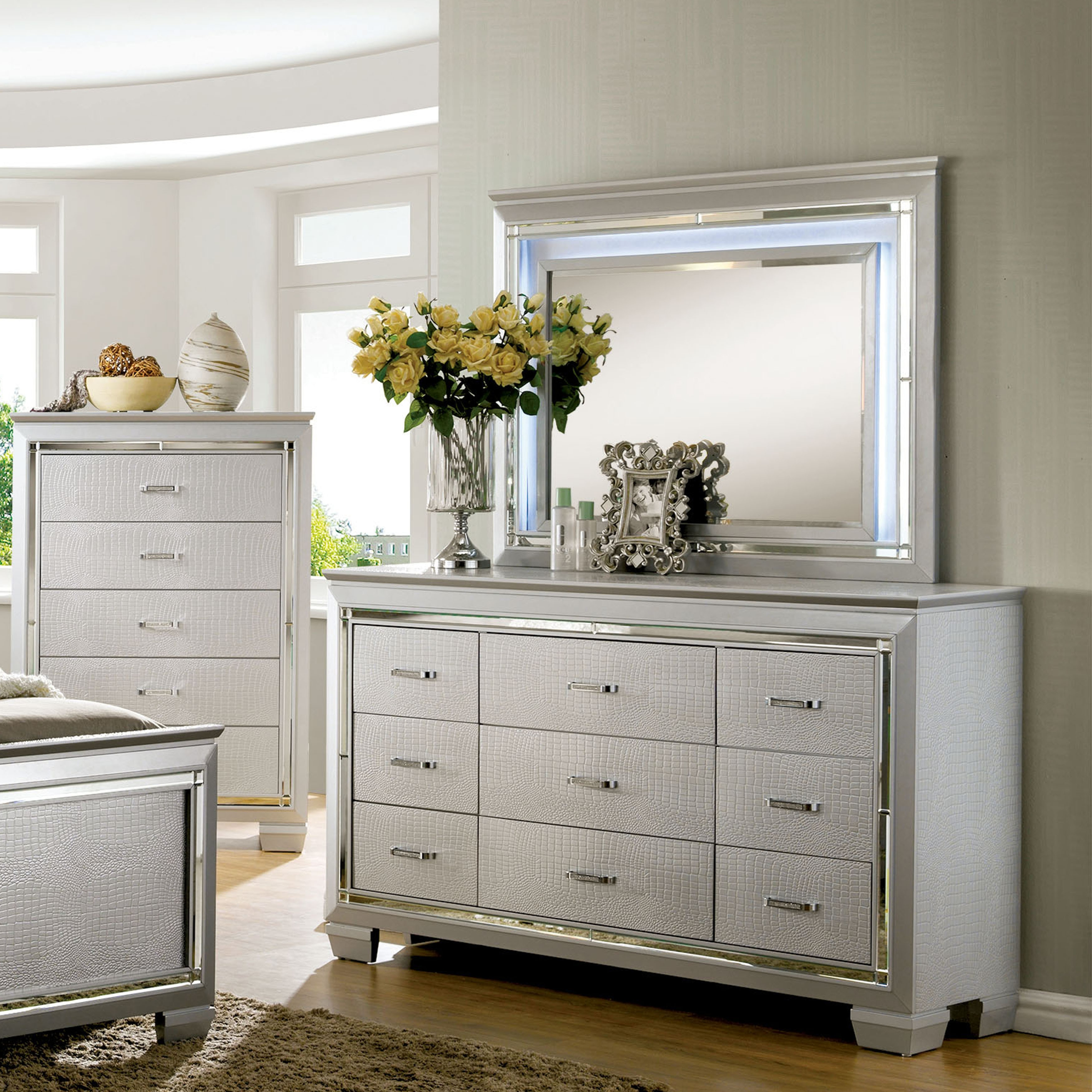 products mirror set with by item ashley drawer design number signature gabriela b traditional dresser