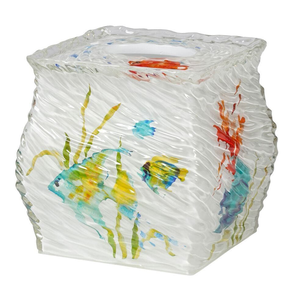 Rainbow Fish Bathroom Accessory Set - Free Shipping On Orders Over ...