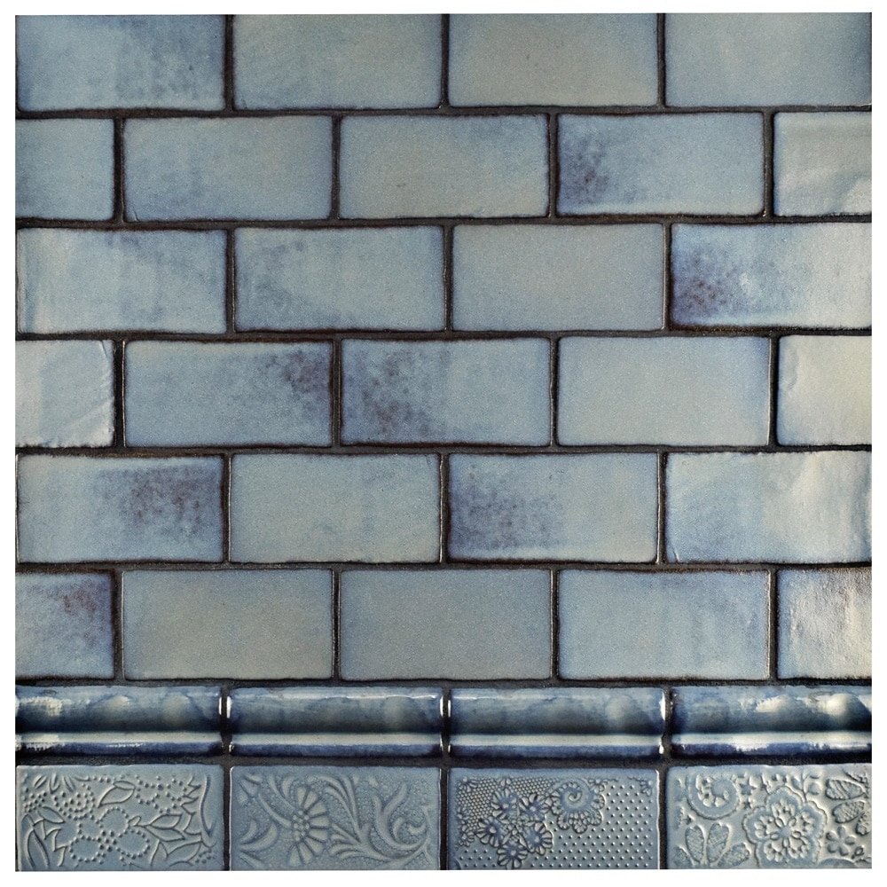 Shop SomerTile 3x6-inch Antiguo Special Griggio Ceramic Wall Tile (8 ...