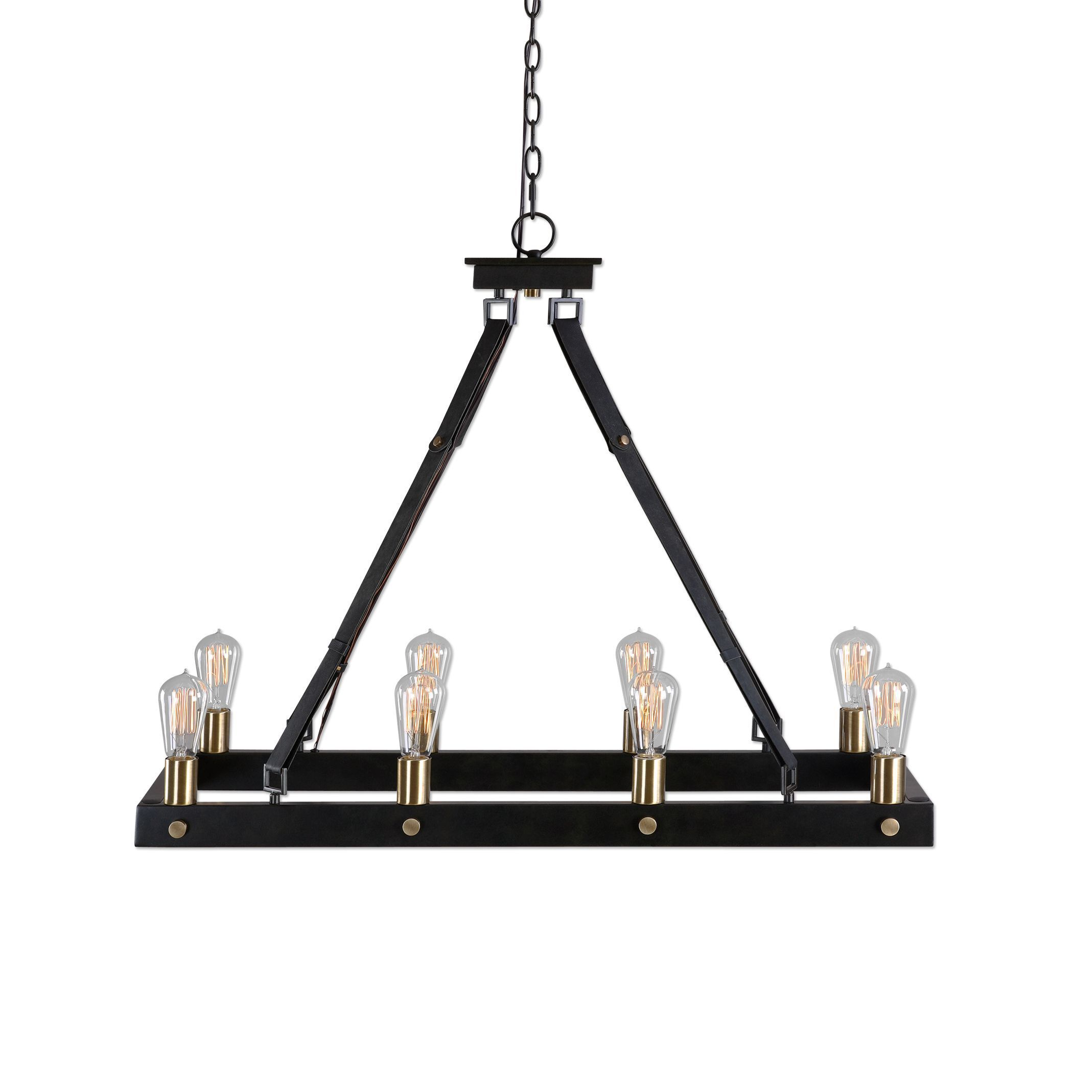 Marlow 8 light Rectangle Chandelier Free Shipping Today