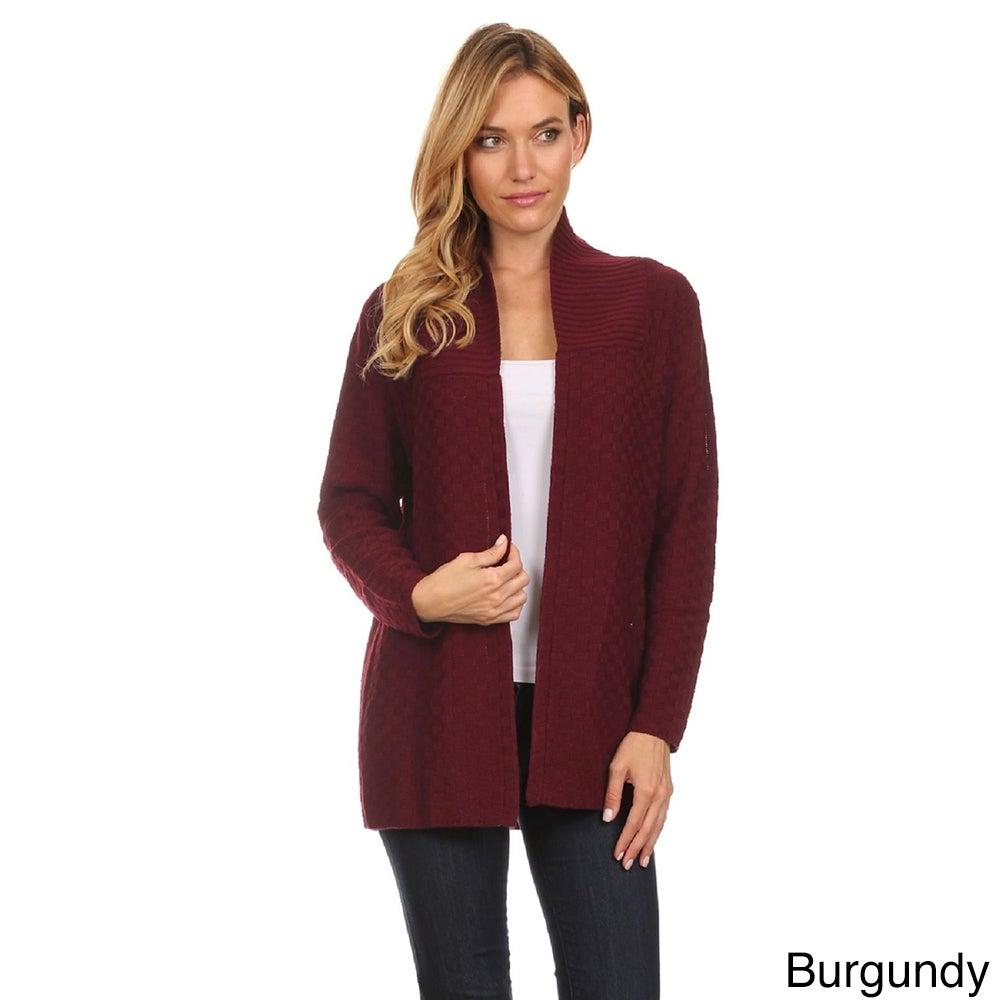 cardigan image initial platinum cashmere autumn in drapes ribbed drape