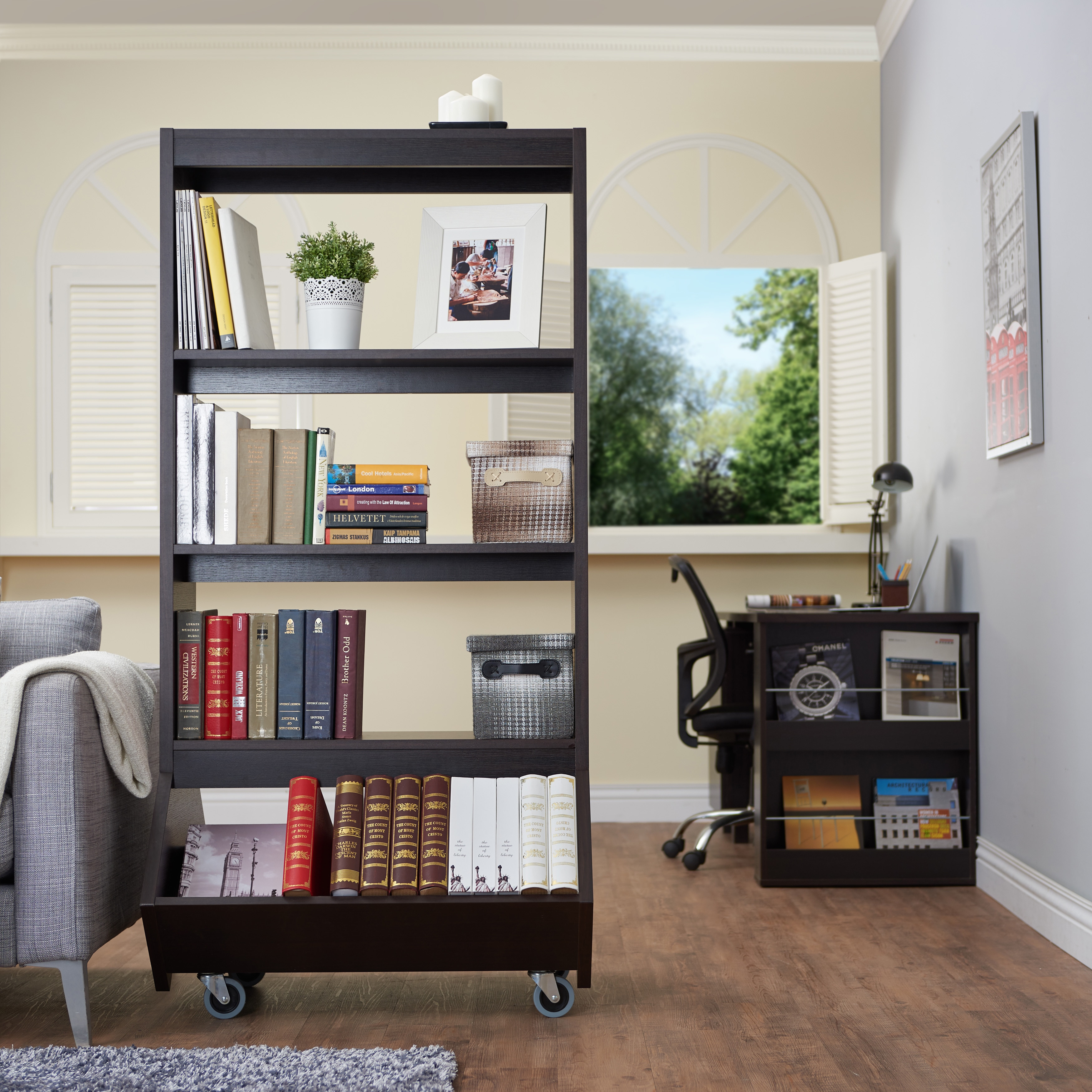 room the fabulous create interior boxes home space to short decor storage use narrow divider ideas within book bookshelf more natural wood with square rack furniture shelf your green