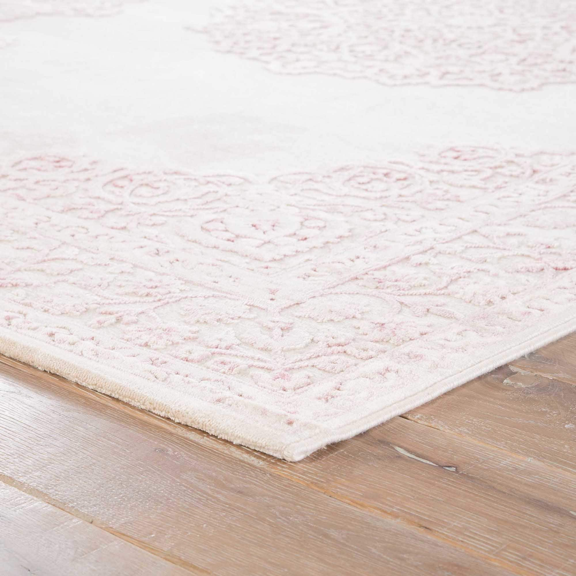Maison Rouge Edith Medallion Pink White Area Rug 9 X 12 On Free Shipping Today 20170720