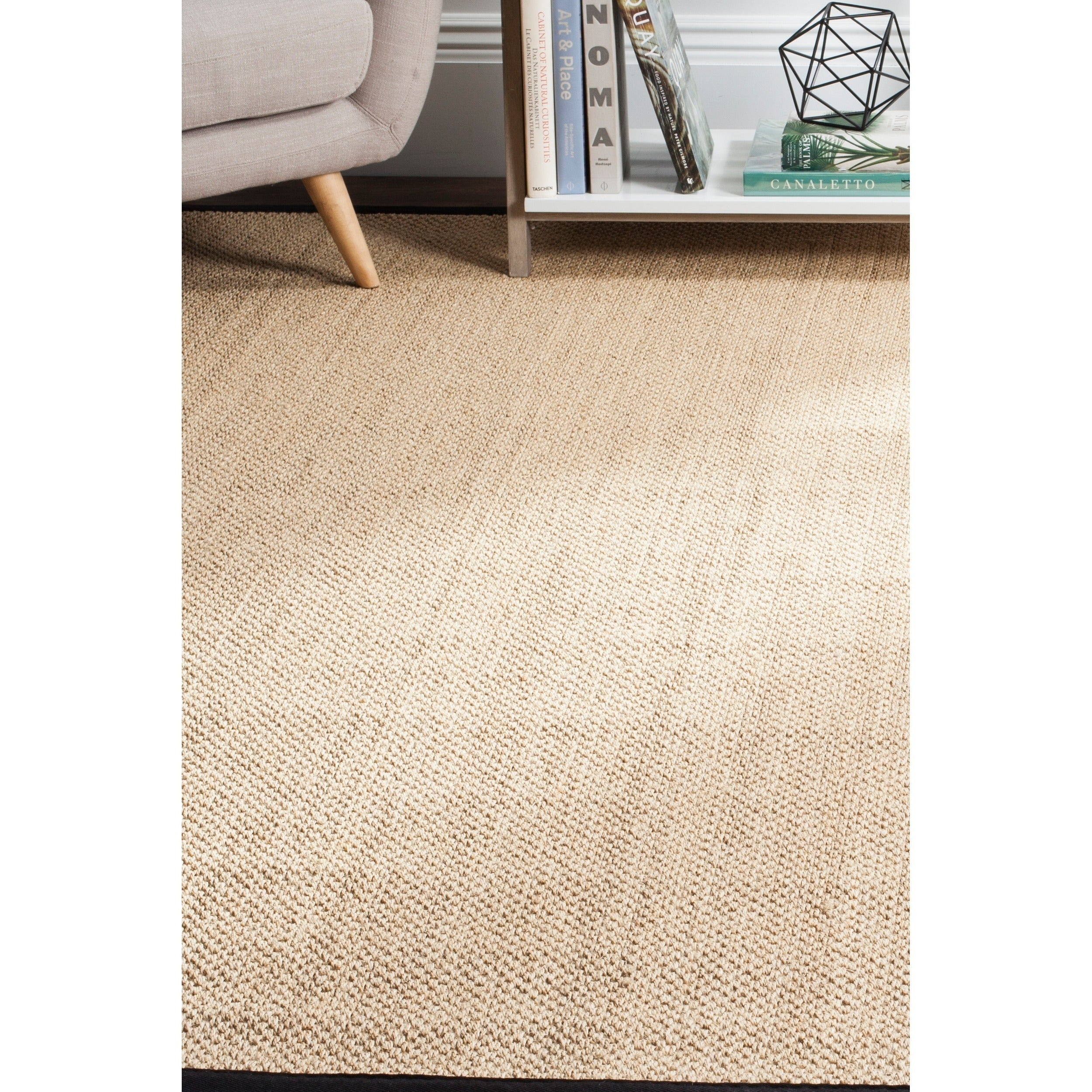 Safavieh Casual Natural Fiber Maize Black Sisal Area Rug 8 X 10 Free Shipping Today 18054400