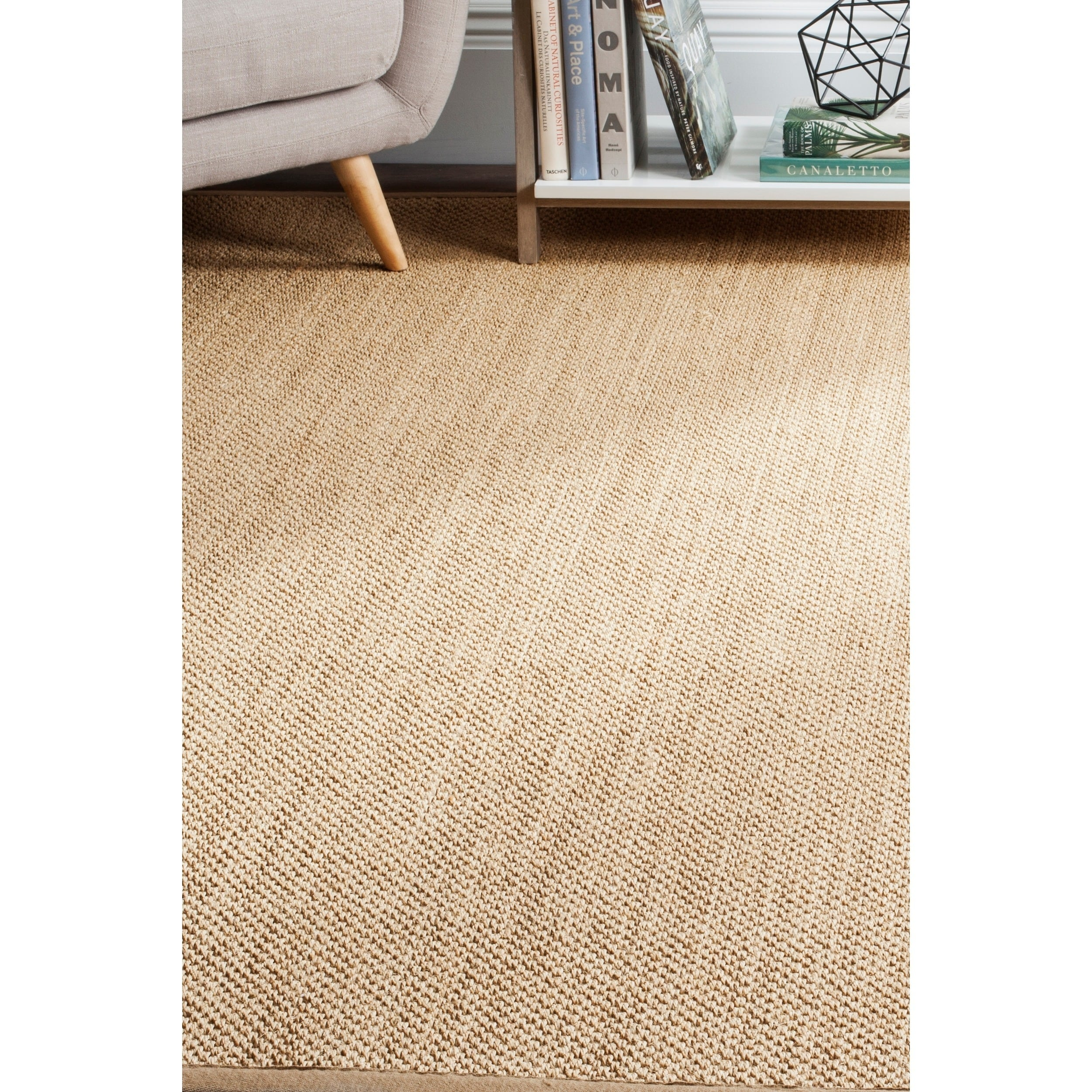 Safavieh Casual Natural Fiber Maize Ivory Linen Sisal Area Rug 8 X 10 Free Shipping Today 18054402