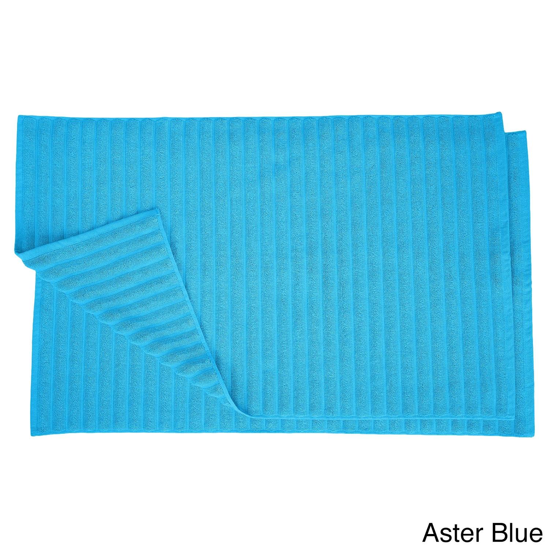 Shop Superior Eco-Friendly Cotton Soft and Absorbent Bath Mat - set ...