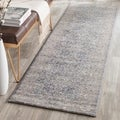 Safavieh Sofia Vintage Oriental Light Grey / Beige Distressed Rug (2'2 x 8')