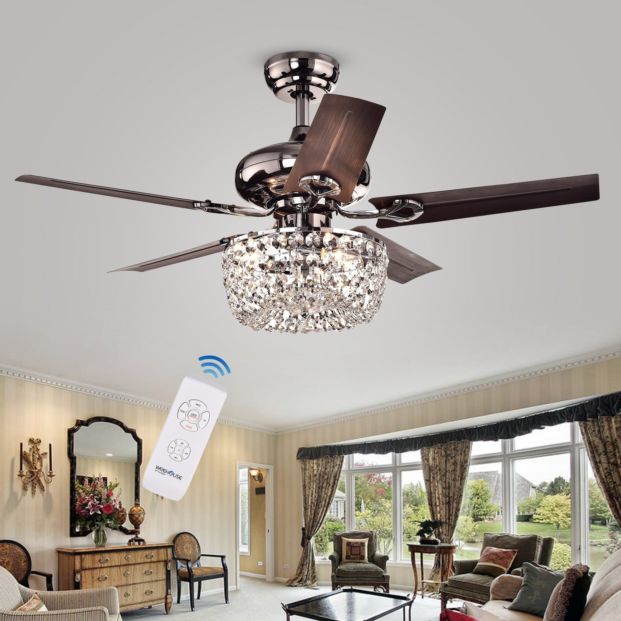 white with cover fan stunning awesome metal images kit fans light remarkable pinterest black crystals about inside chandelier chandeliers elegant ceiling and for lamp on