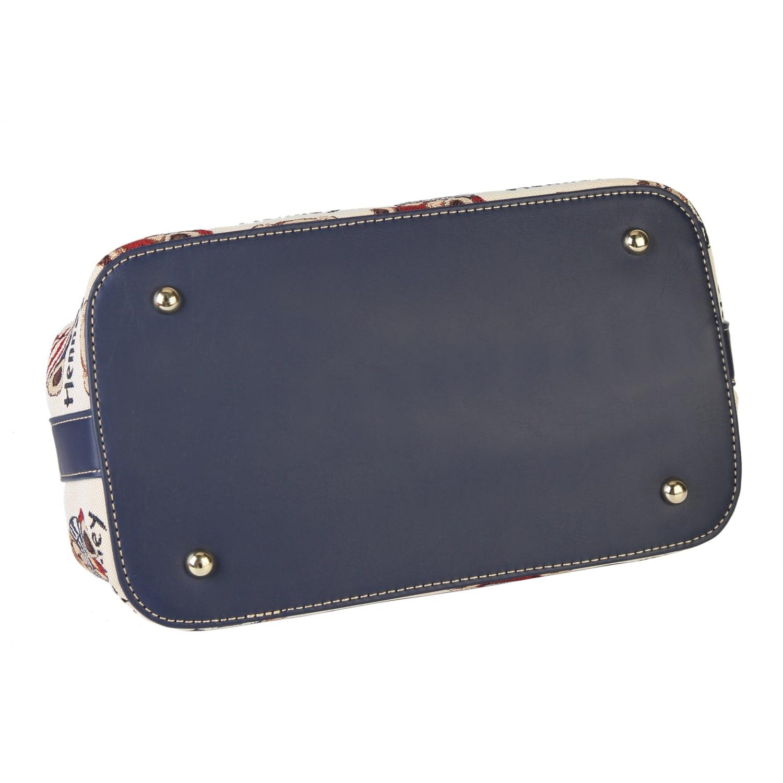 Shop Henney Bear Doctor Bowler Satchel Ships To Canada Overstock Bowling Handbag 11045805