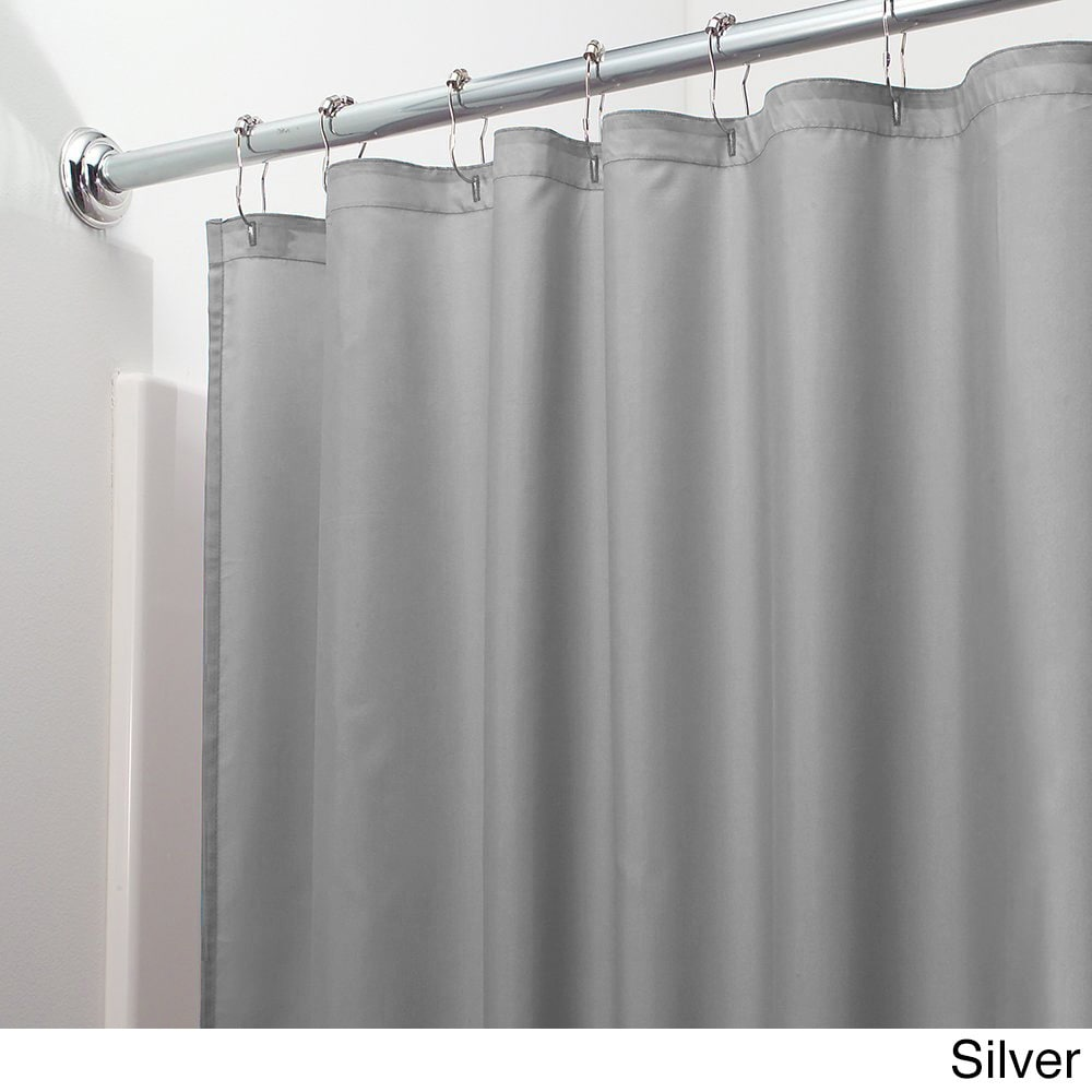 Mildew-free Water-repellent Fabric Shower Curtain Liner - Free ...