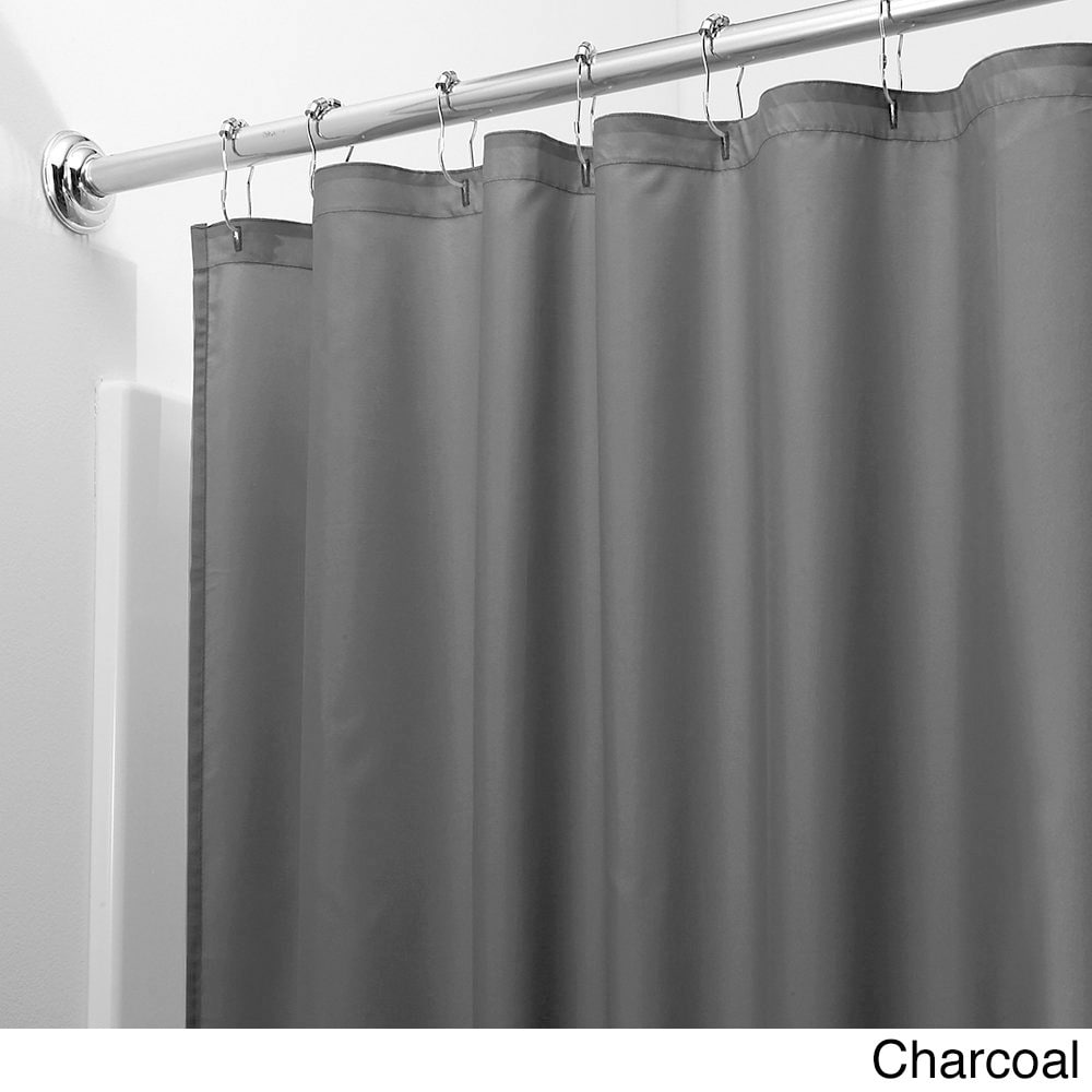 grey shower curtain liner. Mildew free Water repellent Fabric Shower Curtain Liner  Free Shipping On Orders Over 45 Overstock com 18059842