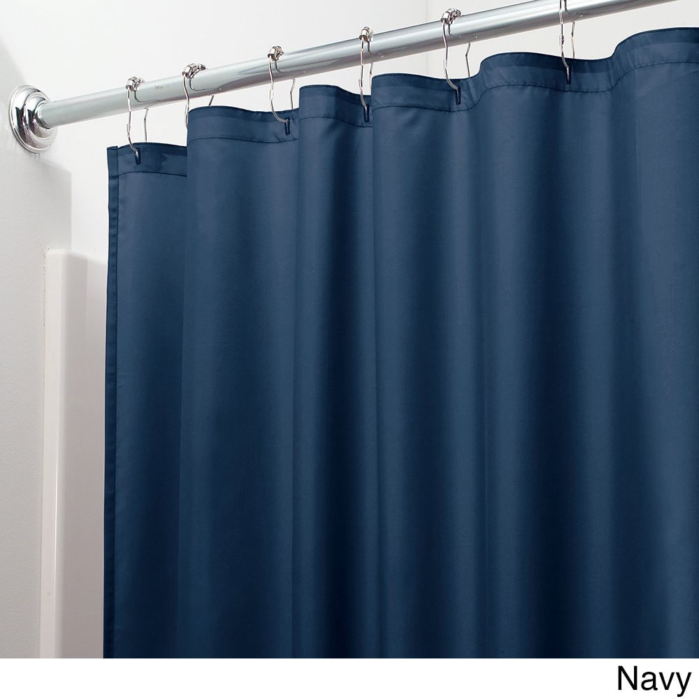 Shop Mildew Free Water Repellent Fabric Shower Curtain Liner