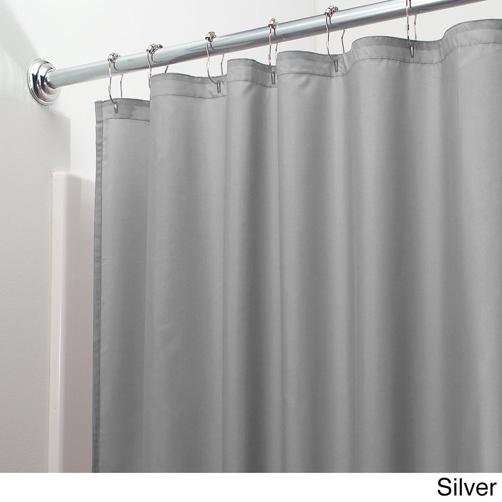 Shop Mildew Free Water Repellent Fabric Shower Curtain Liner 70