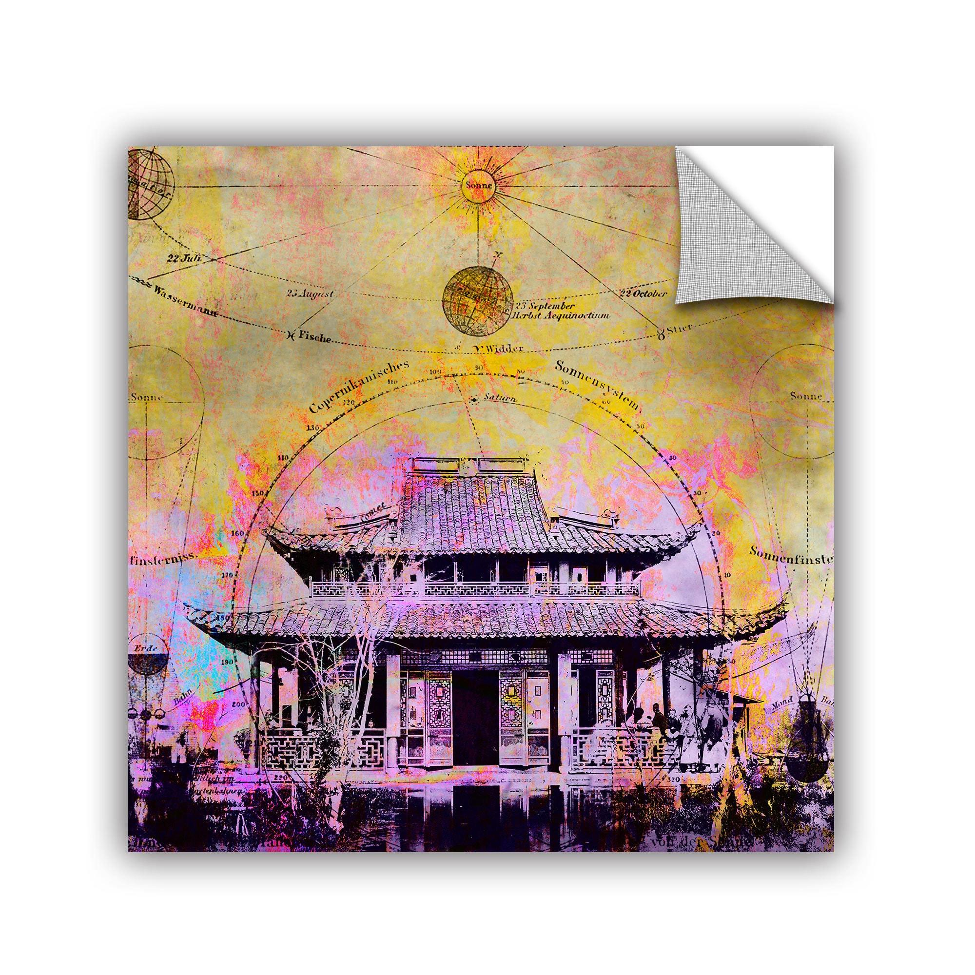 Shop ArtAppealz Elena Ray \'Celestial Temple\' Removable Wall Art ...
