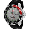 Seapro Men's SP8312 Scuba Limited Edition Round Black Silicone Strap Watch