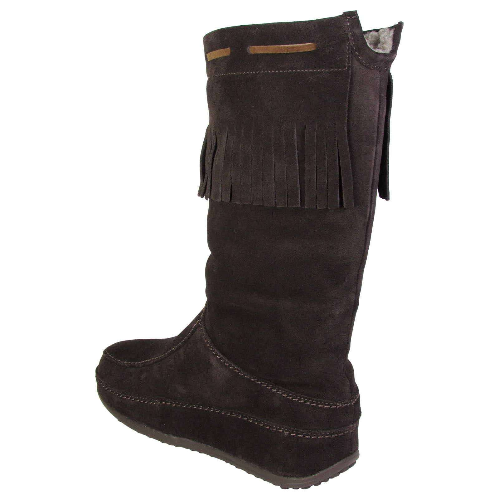 b91dcff126416b Shop Fitflop Womens Superfringe Mukluk Suede Boots - On Sale - Free  Shipping Today - Overstock