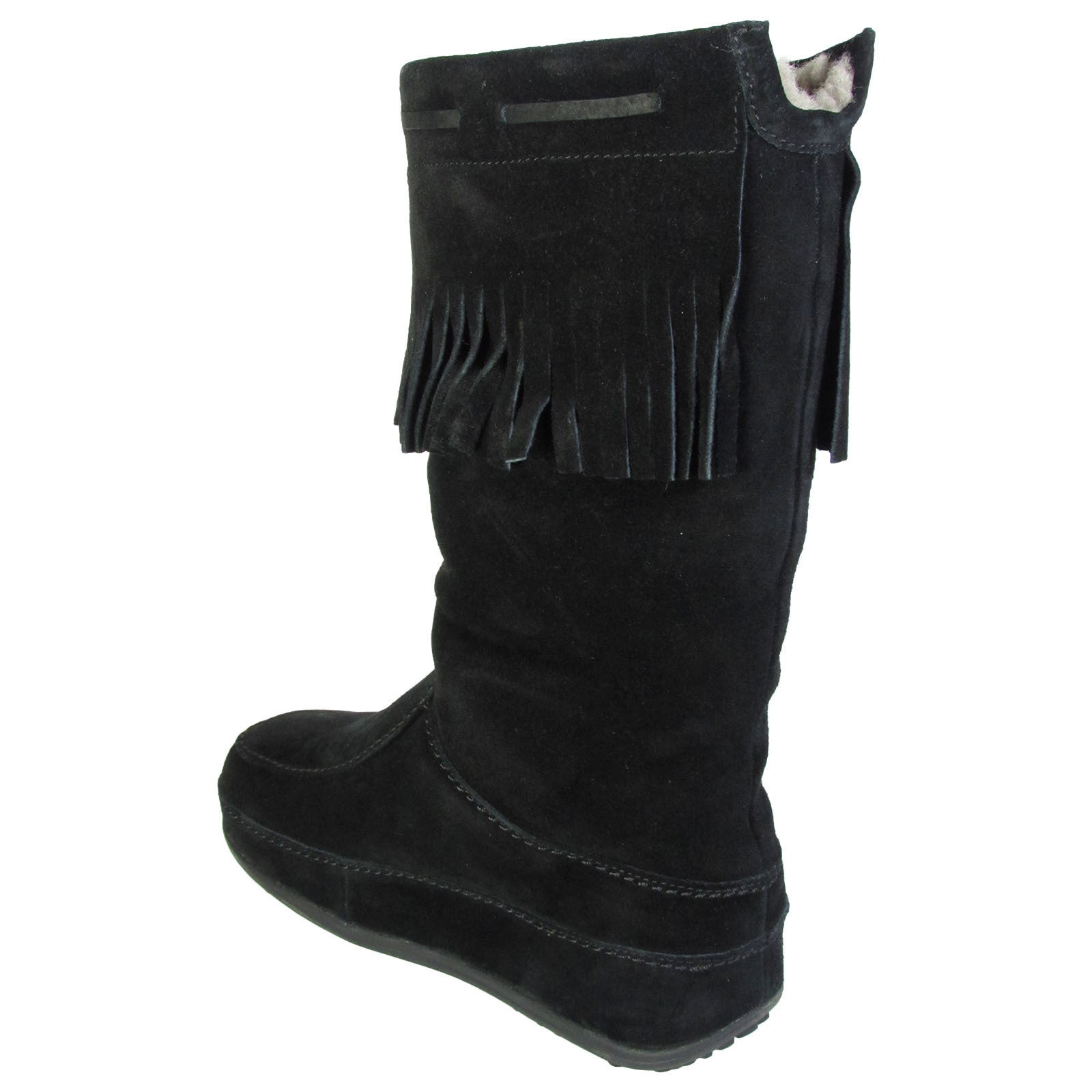 b02cc5ad3 Shop Fitflop Womens Superfringe Mukluk Suede Boots - Free Shipping Today -  Overstock - 11079207