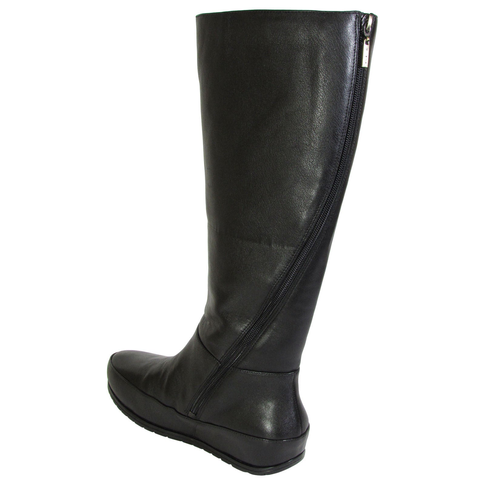 1c933a3b43d Shop Fitflop Womens DueBoot Twisted Zip Knee High Boots - Free ...