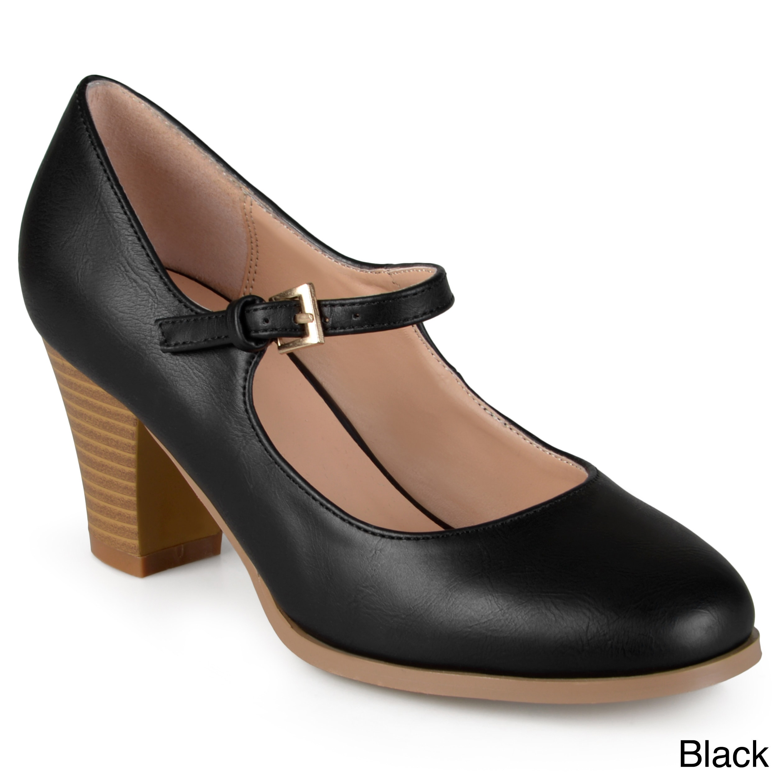 a78918aa4f7 Shop Journee Collection Women s  Jamie  Classic Mary Jane Pumps - On Sale -  Free Shipping On Orders Over  45 - Overstock - 11079398