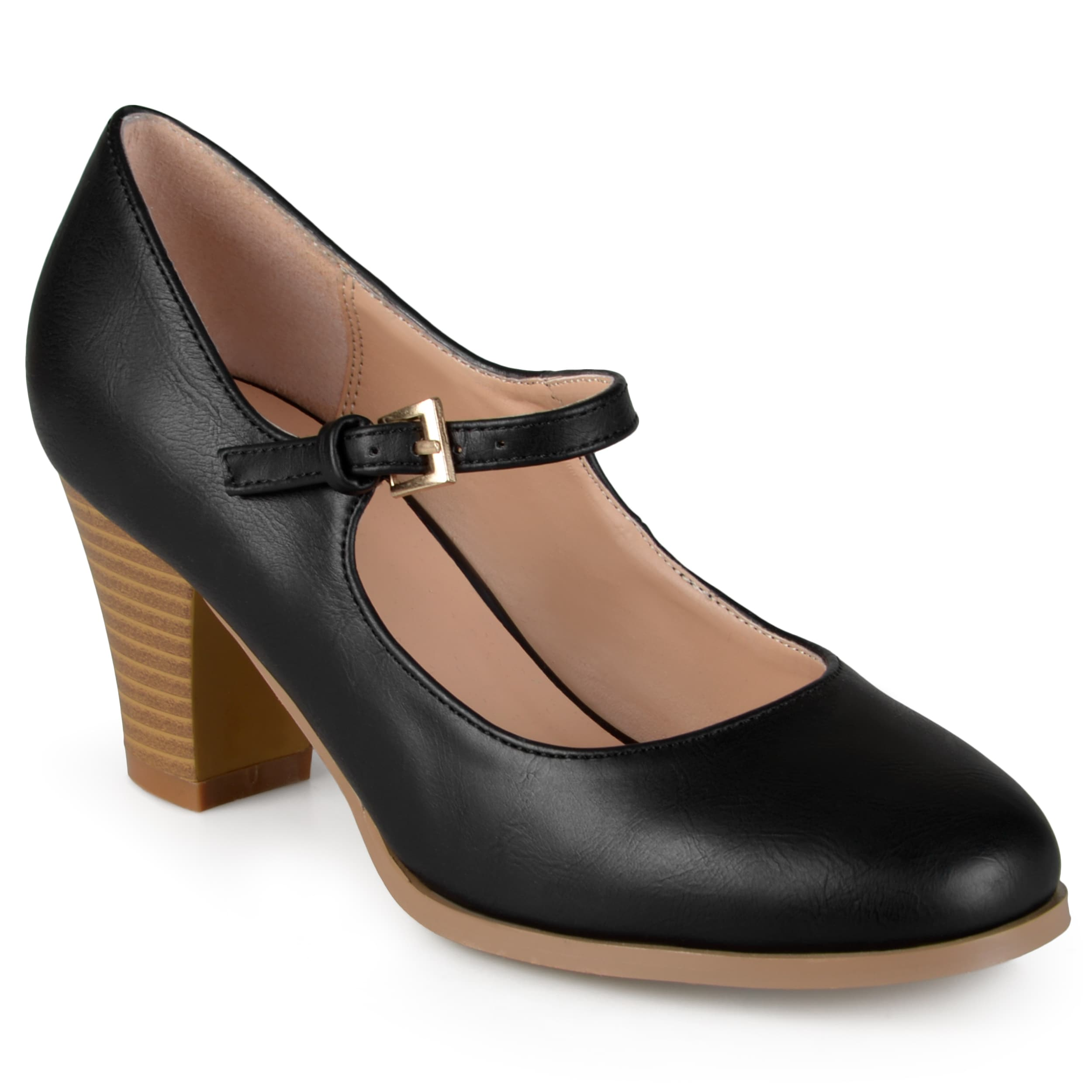 d628d99ef Shop Journee Collection Women's 'Jamie' Classic Mary Jane Pumps - Free  Shipping On Orders Over $45 - Overstock - 11079398