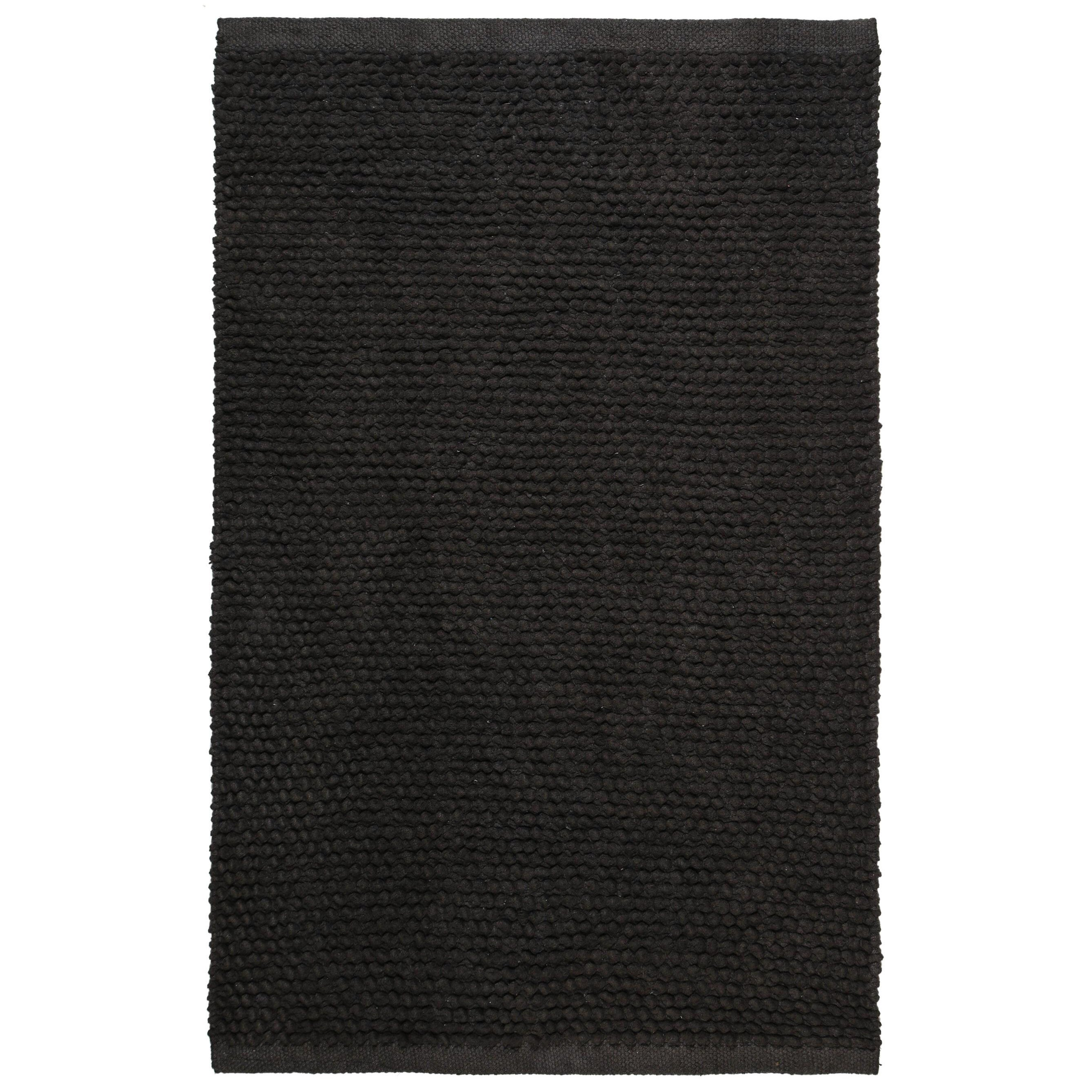 Plush Nubby Charcoal Bath Rug 21 X 34 On Free Shipping Orders Over 45 11083326