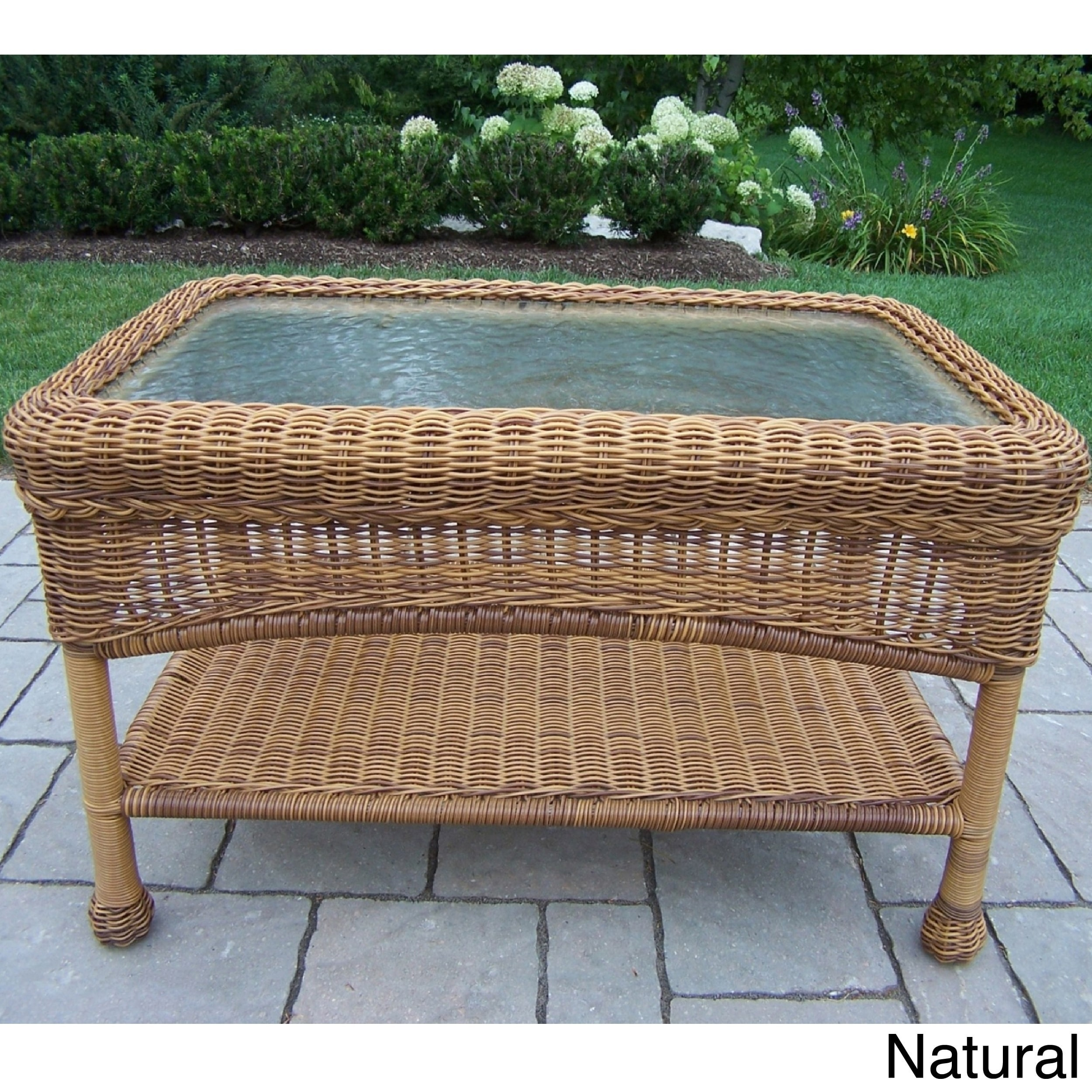 product table wicker vintage white coffee chairish