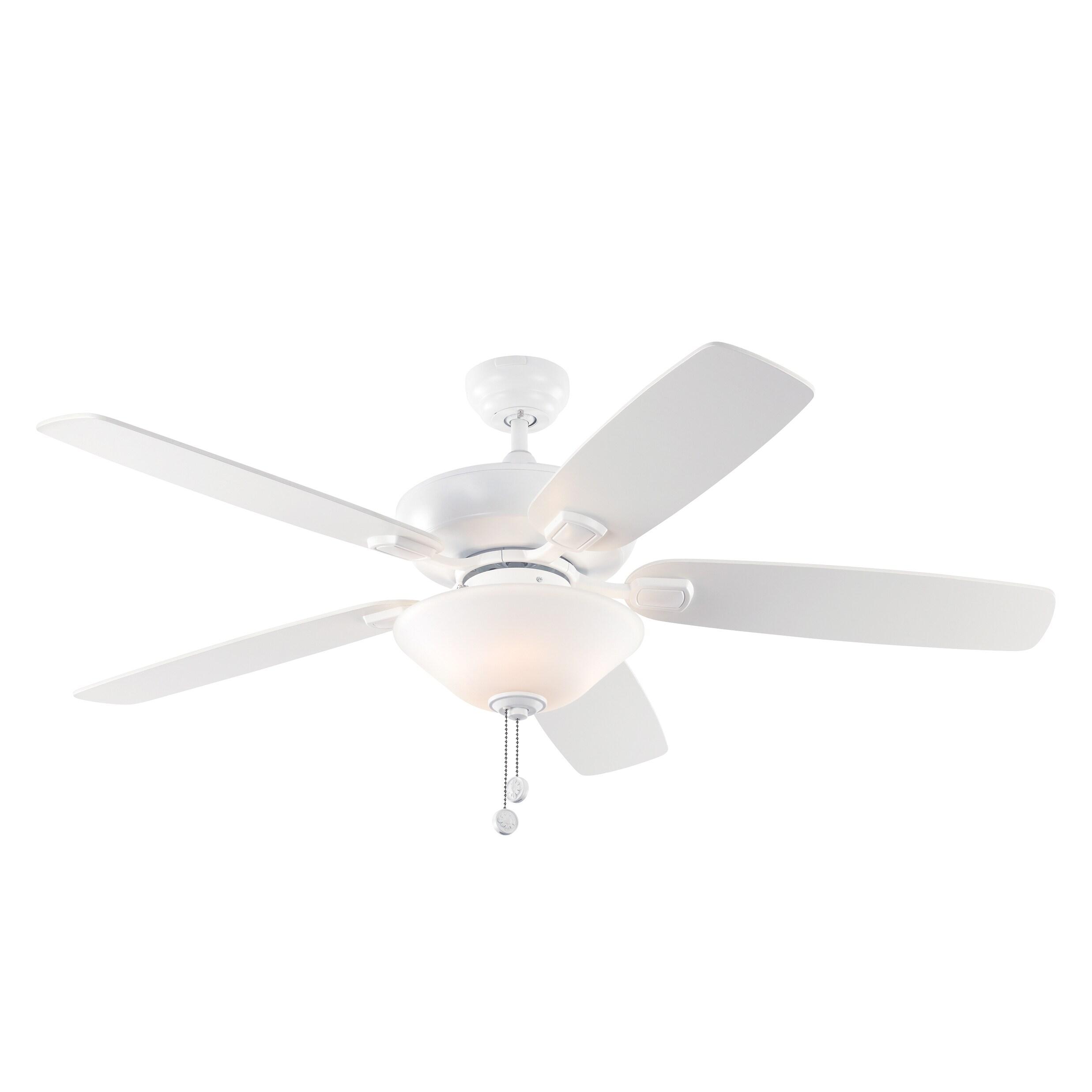 Monte Carlo Colony Max Plus 5 Blade Rubberized White Ceiling Fan
