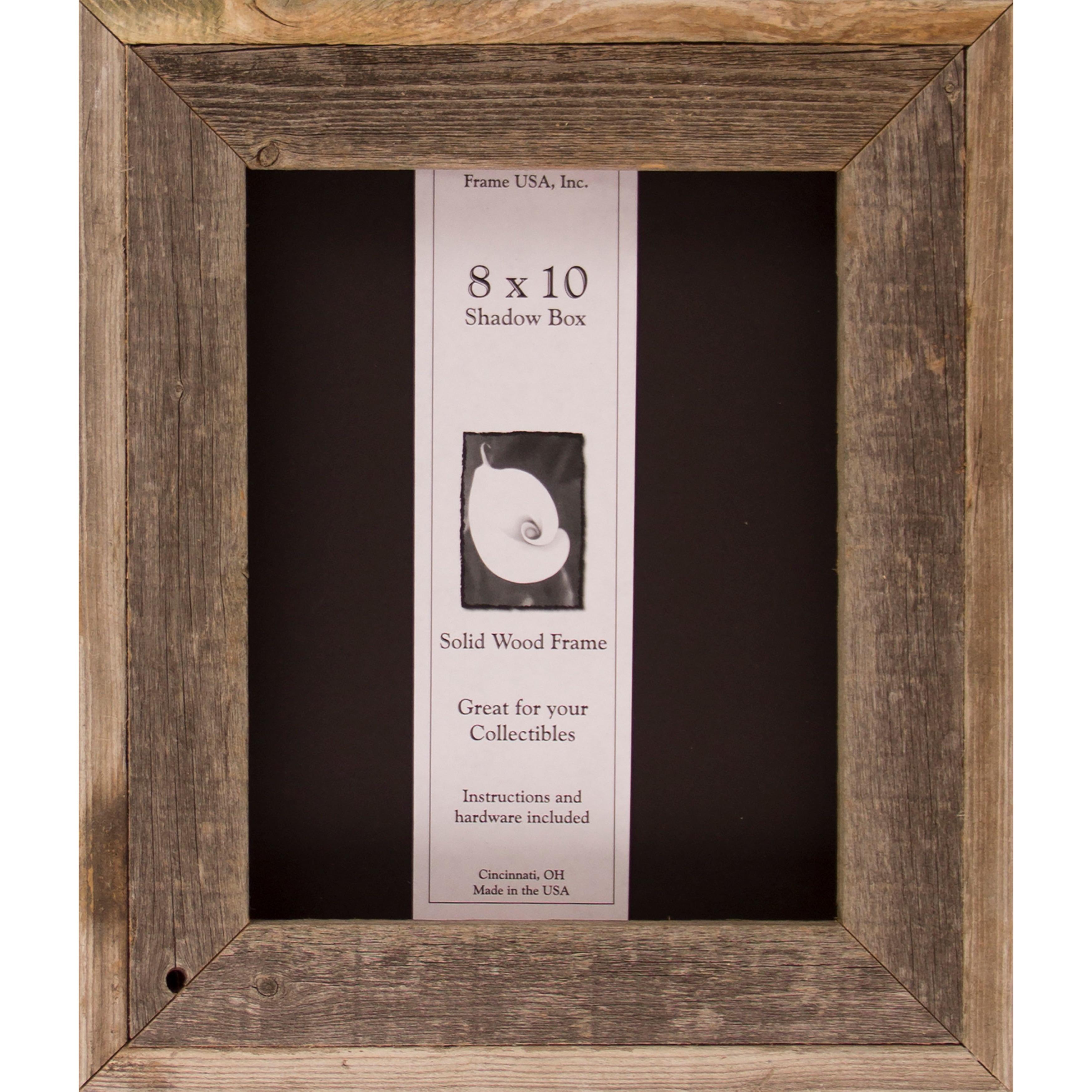 Shop Barnwood Shadow Box 8 X 10 Free Shipping On Orders Over 45