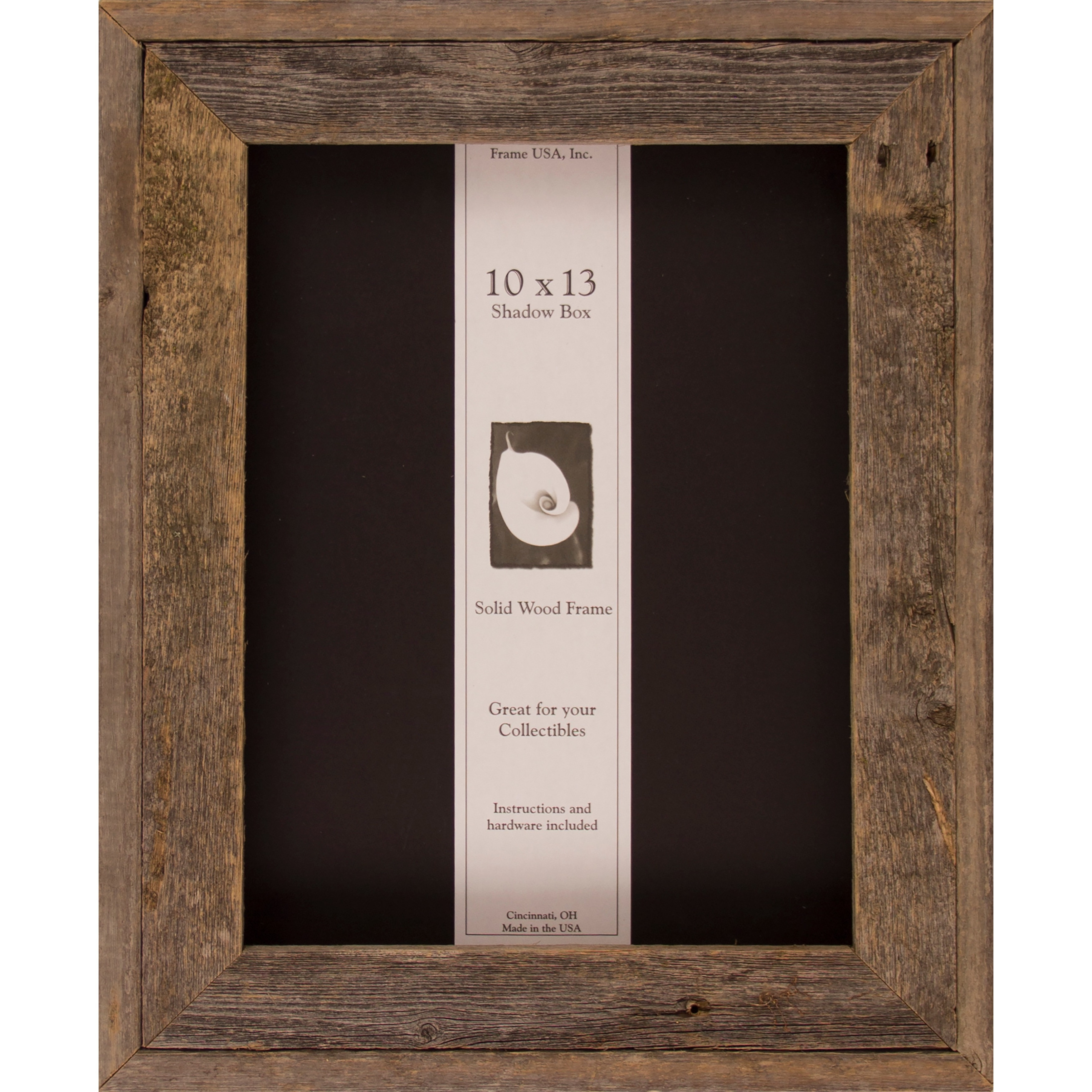 Shop Barnwood Shadow Box (10 x 13) - Free Shipping Today - Overstock ...