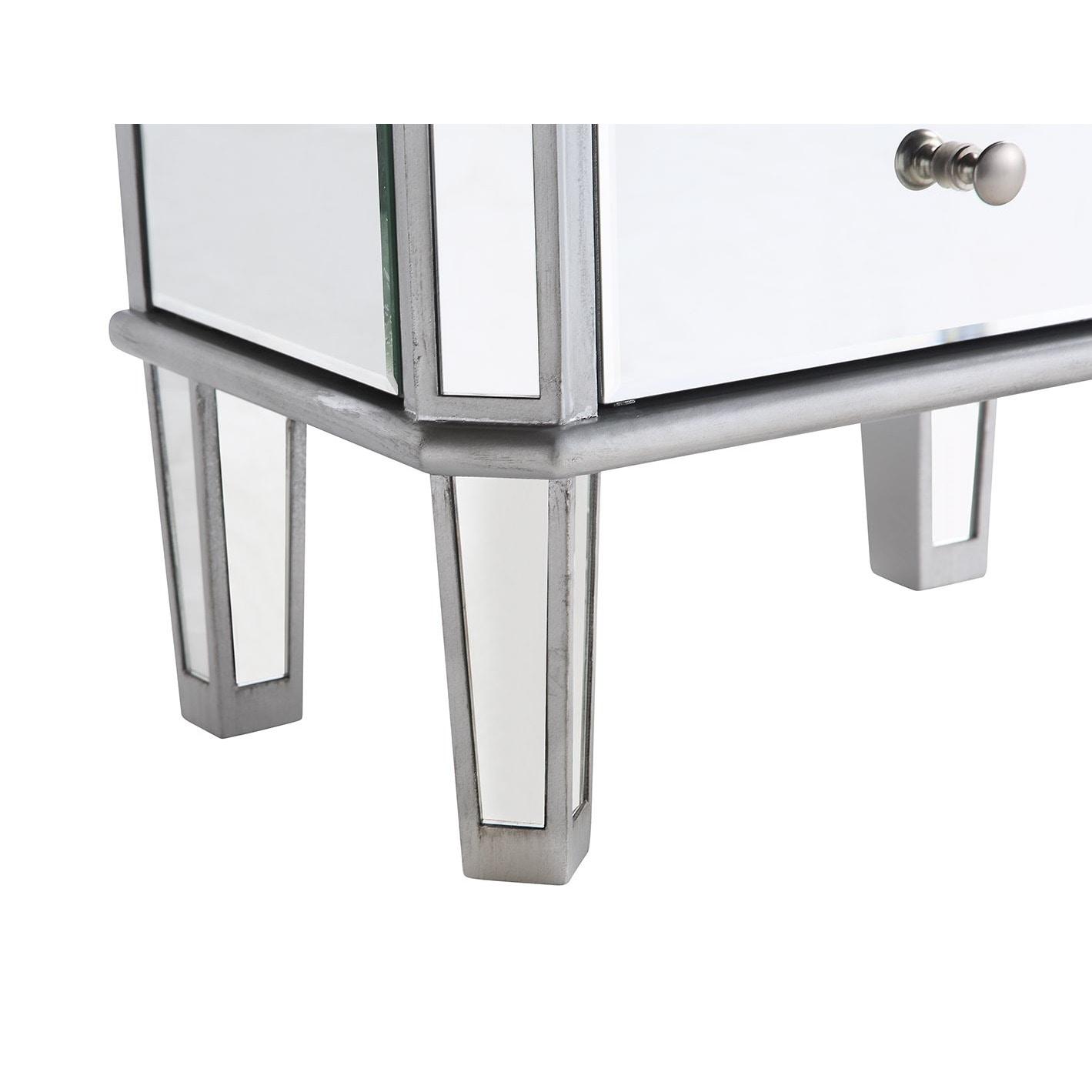 Elegant Lighting 7drawer Mirrored Jewelry Armoire Free Shipping