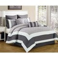 Spain Hotel Quilted Oversized and Overfilled 7-piece Comforter Set