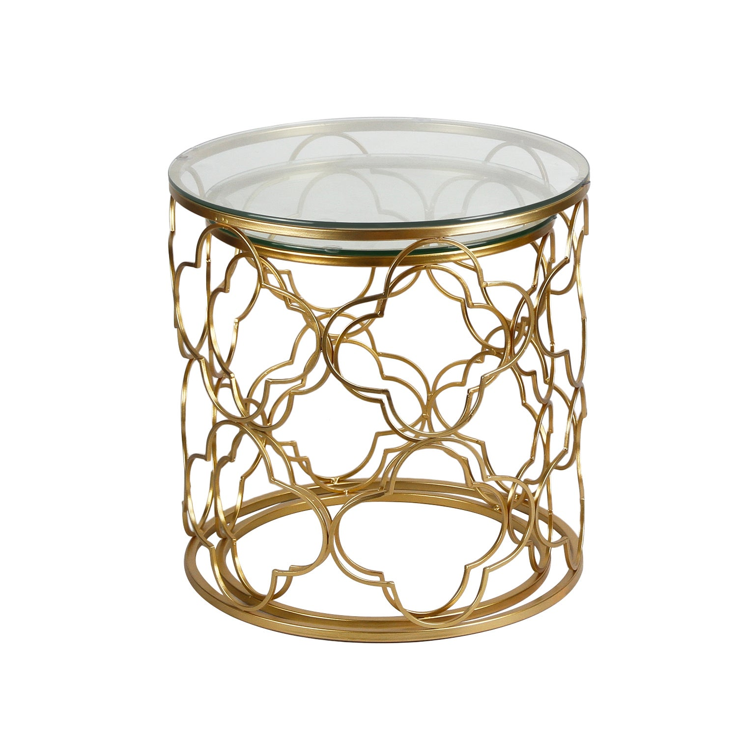 golden postmodernism side metal garden patio of set shipping accent today product free table overstock home