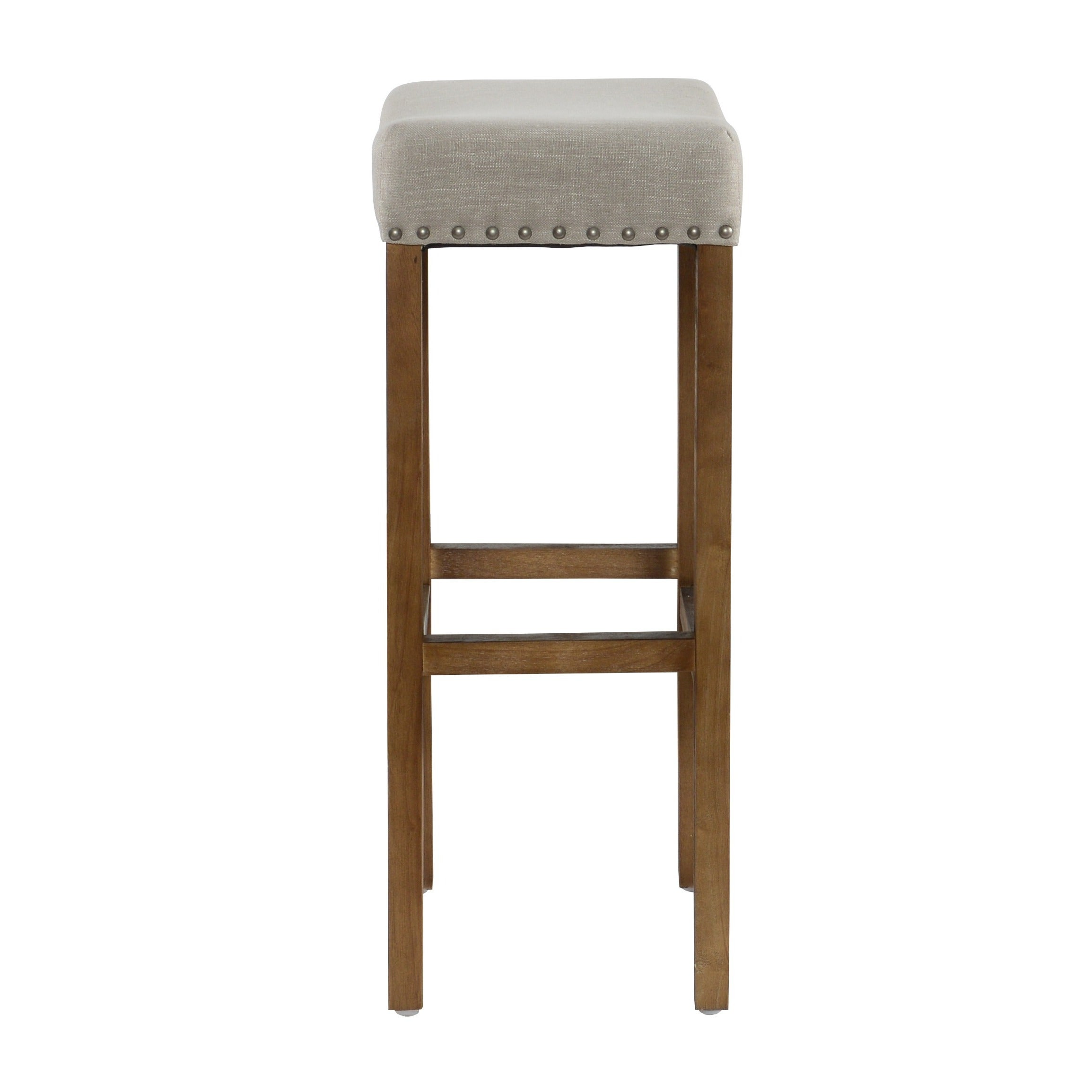 Shop kai 31 inch backless barstool by kosas home on sale free shipping today overstock com 11097912