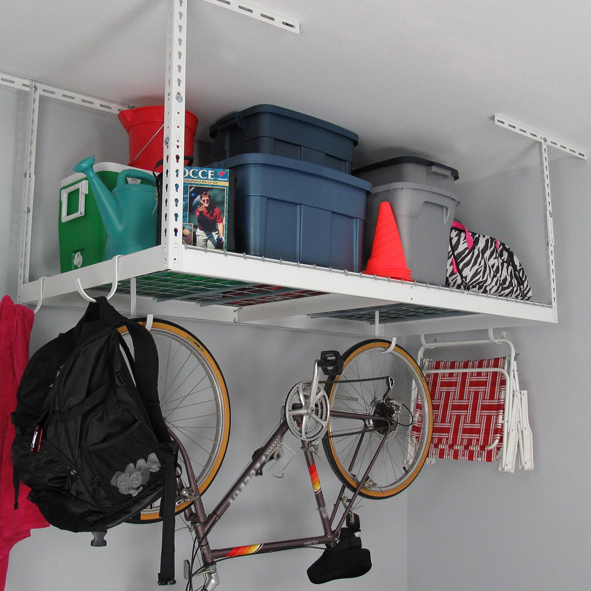 Shop MonsterRax 3\' x 6\' Overhead Garage Storage Rack - Free Shipping ...