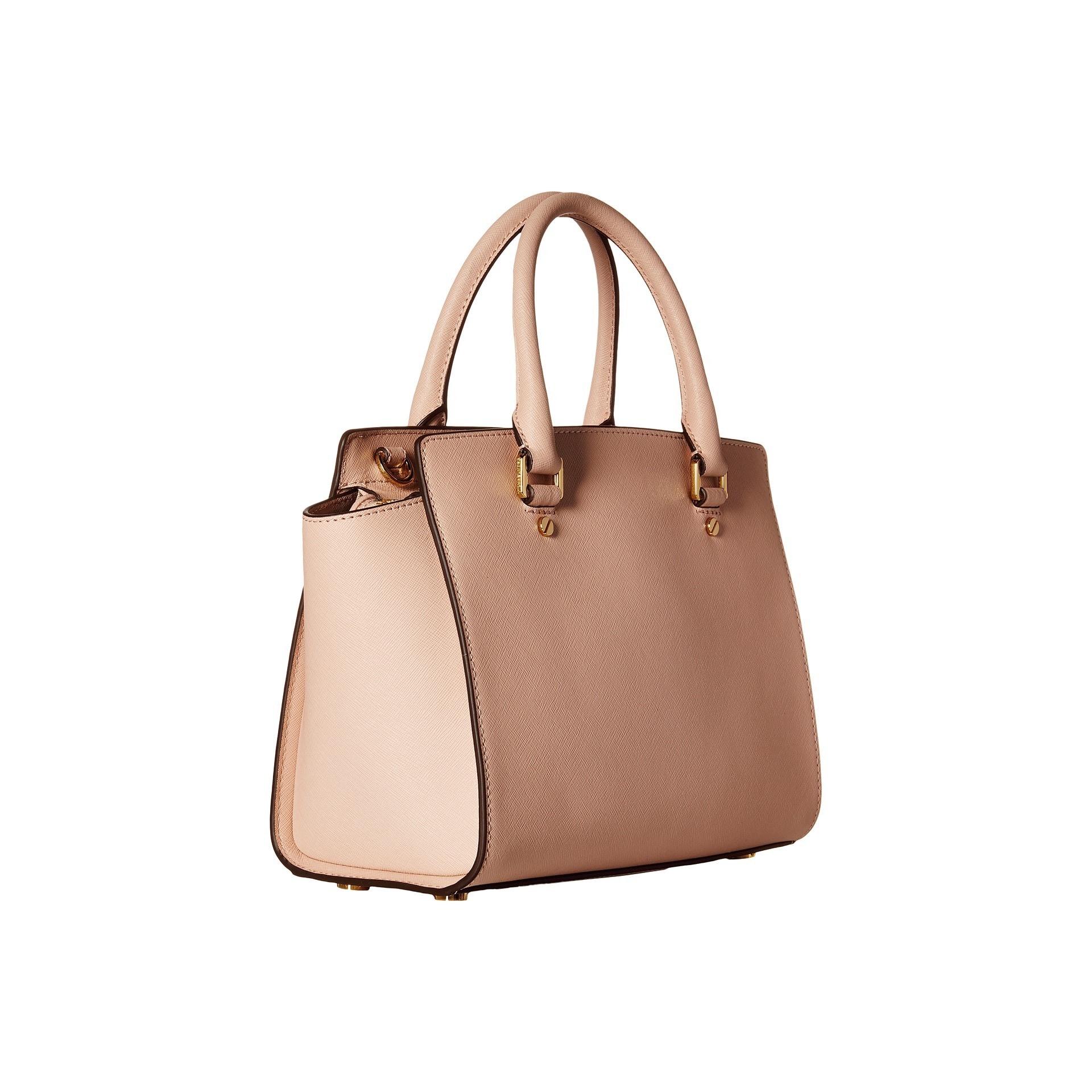 c93d083b5939 Shop Michael Kors Selma Medium Ballet Satchel Handbag - Free Shipping Today  - Overstock - 11098779