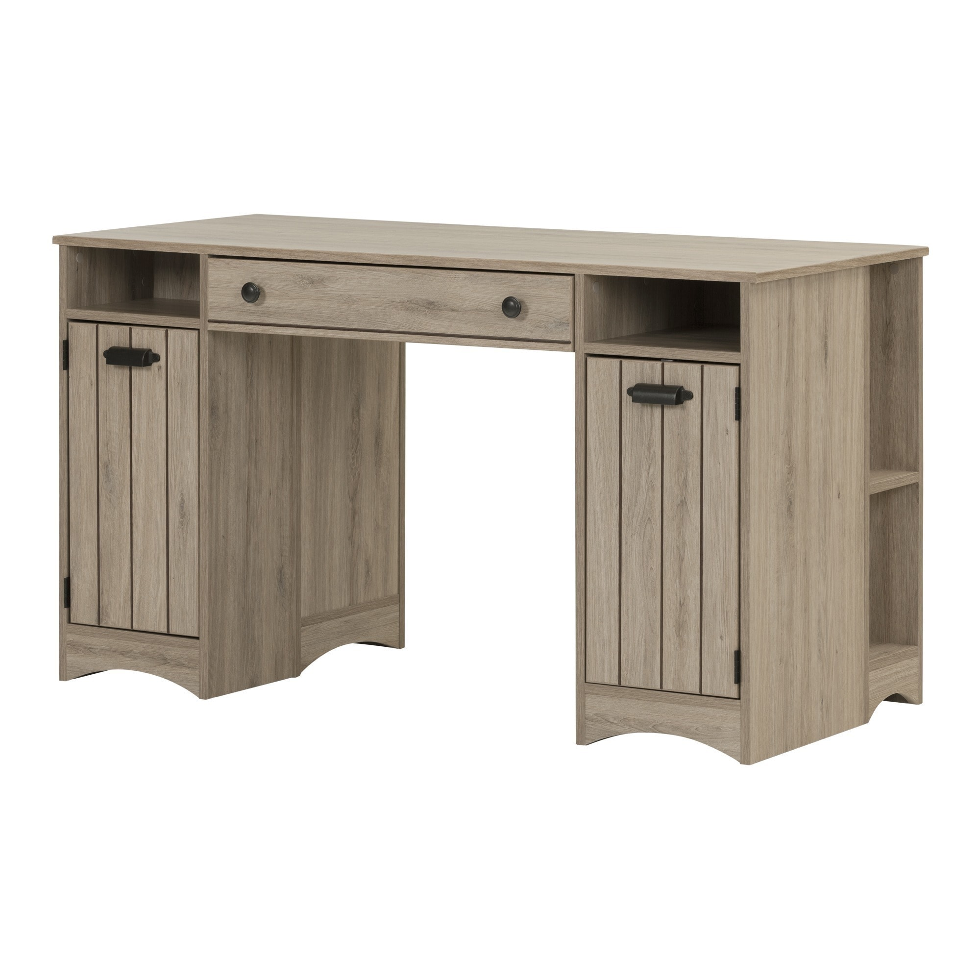 South Shore Artwork Craft and Sewing Machine Table with Storage - Free  Shipping Today - Overstock.com - 18104314